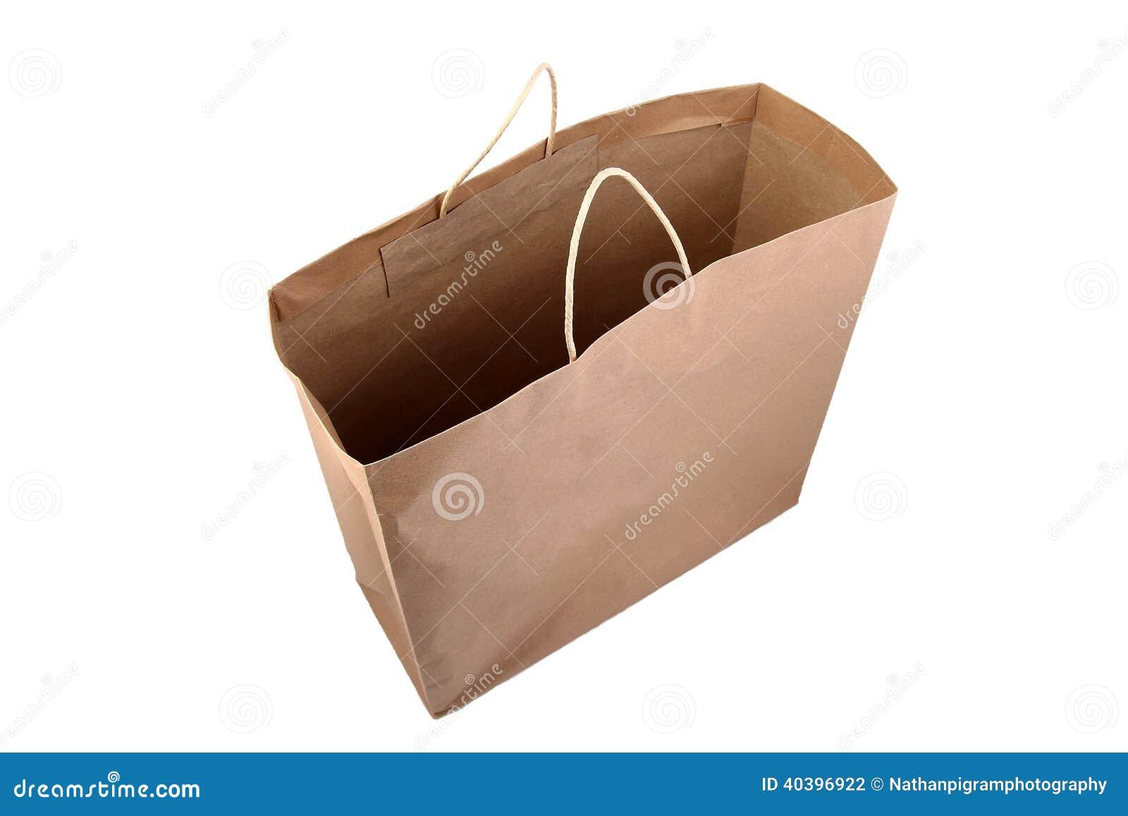 Хозяйственная сумка бумаги Брайна