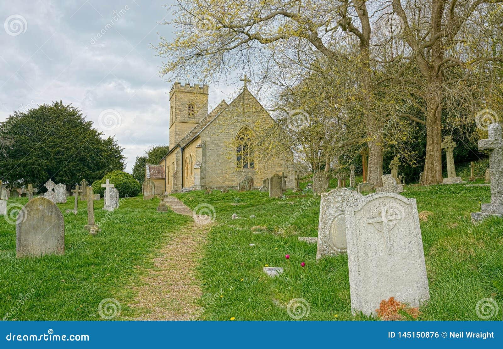 Холм Crockham, Кент, Великобритания r Церковь святой троицы