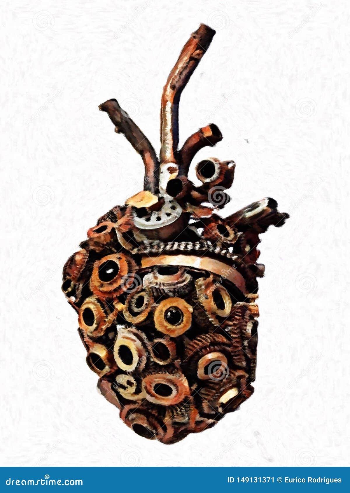 Холодное механическое сердце - предпосылка цифров конспекта
