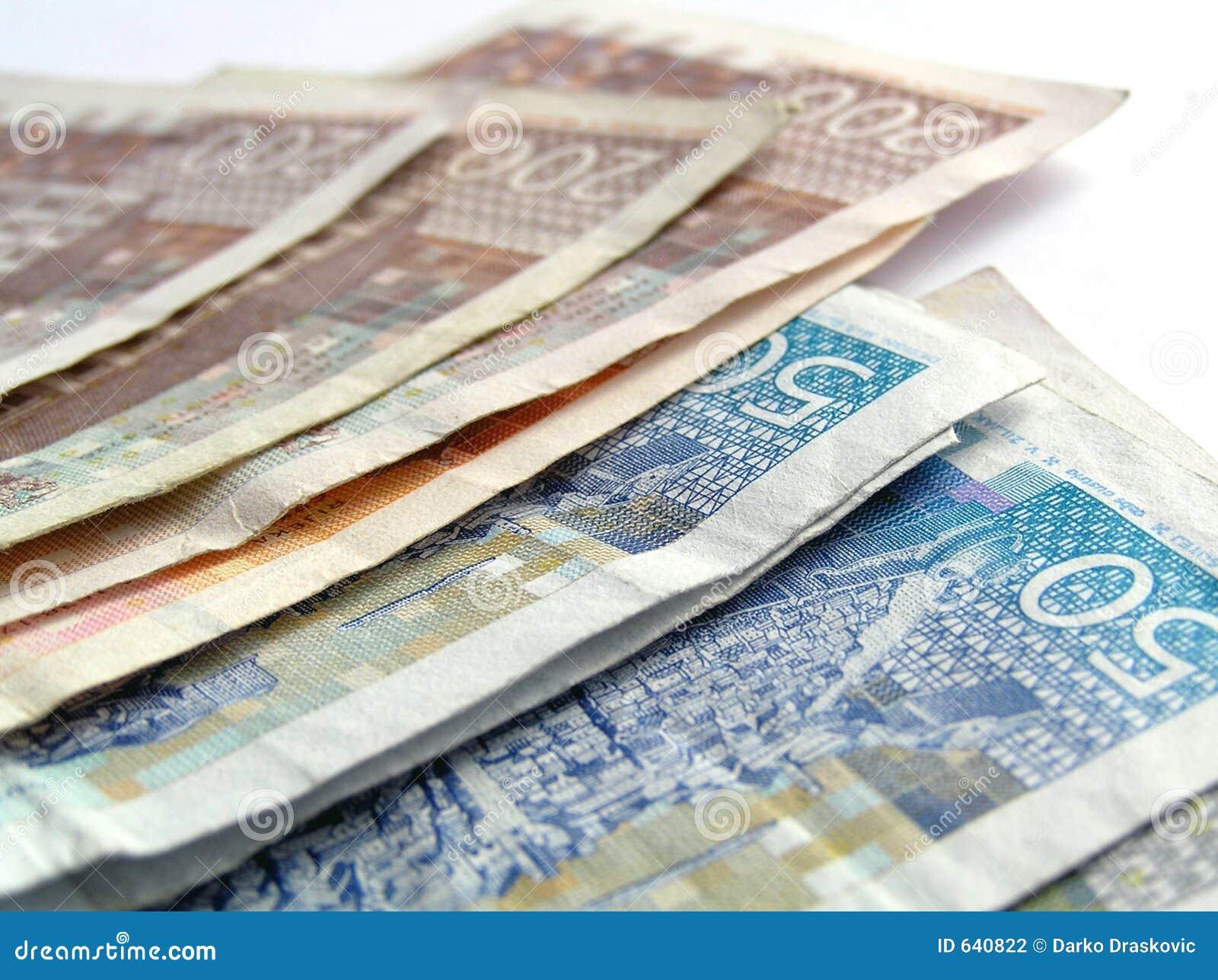 Download хорватские деньги стоковое фото. изображение насчитывающей деньги - 640822