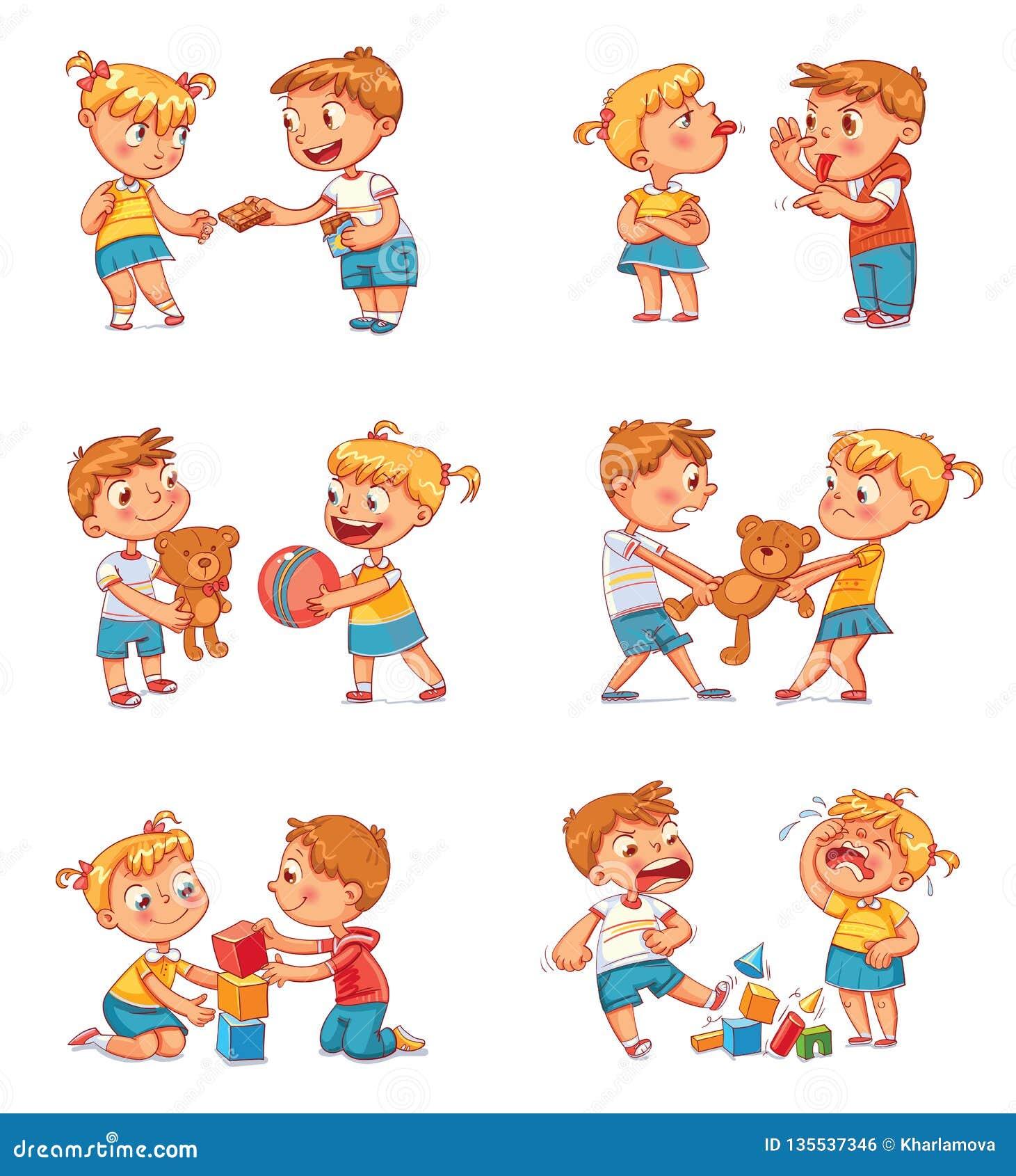 Хорошее и плохое поведение ребенка