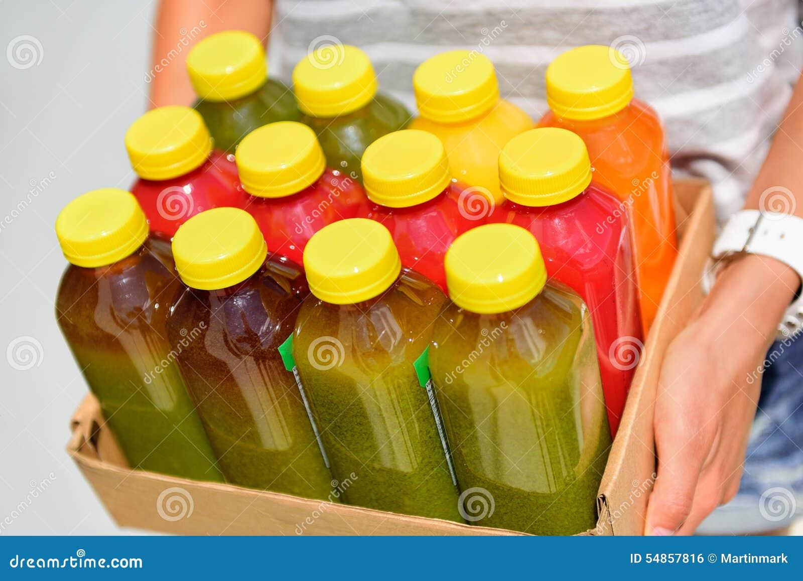 Холодн-отжатые органические сырцовые бутылки vegetable сока