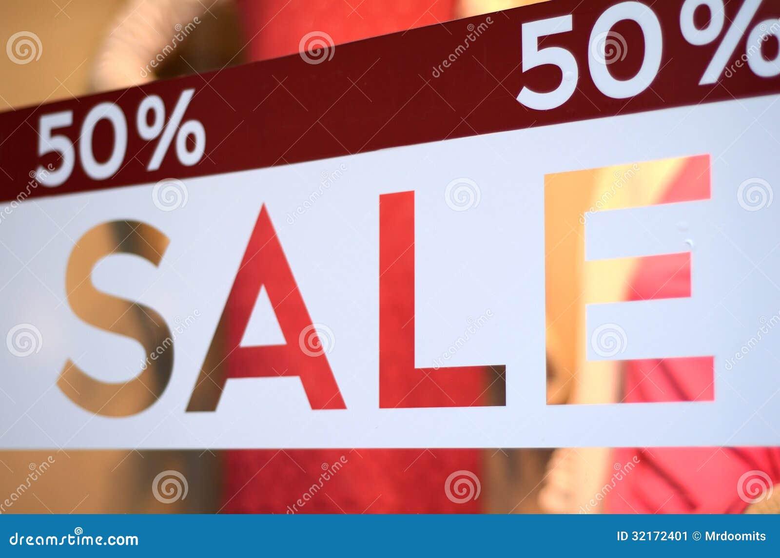 Храните дисплей окна продажи