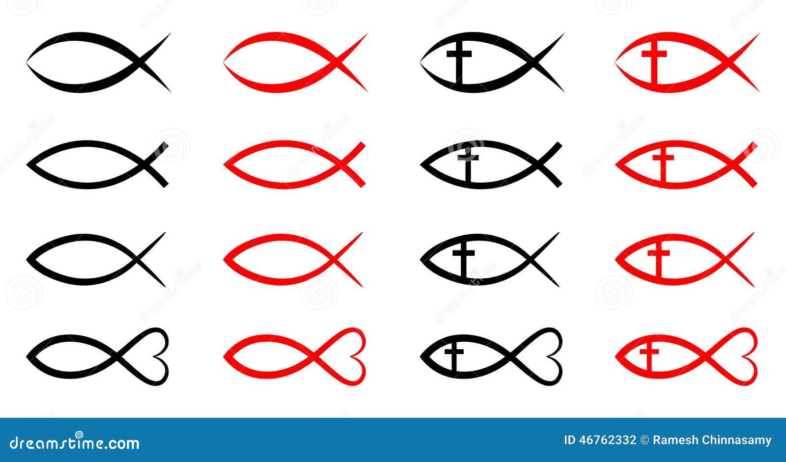 христианские рыбы