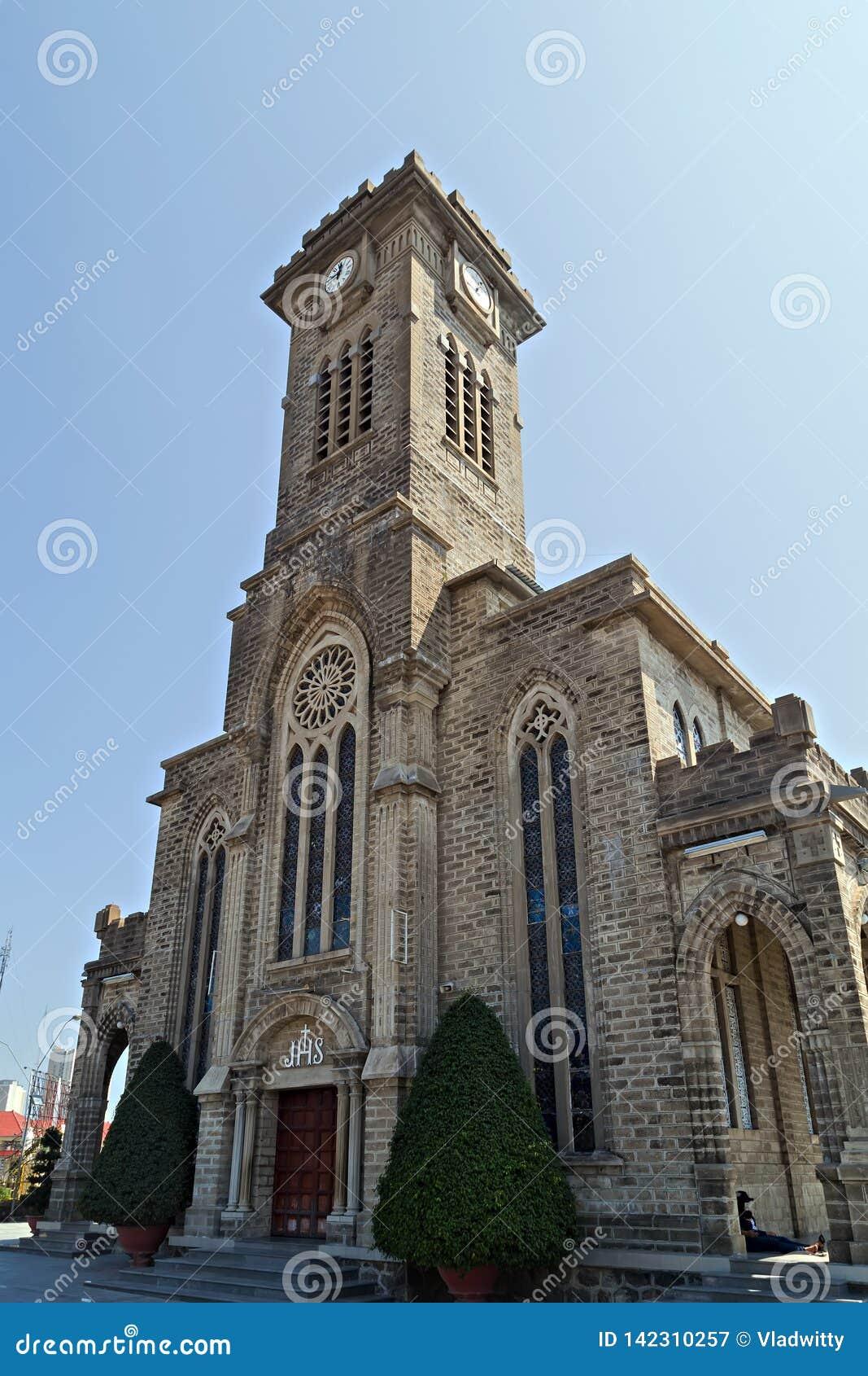 Христос король Собор, готические часы башни стиля возрождения