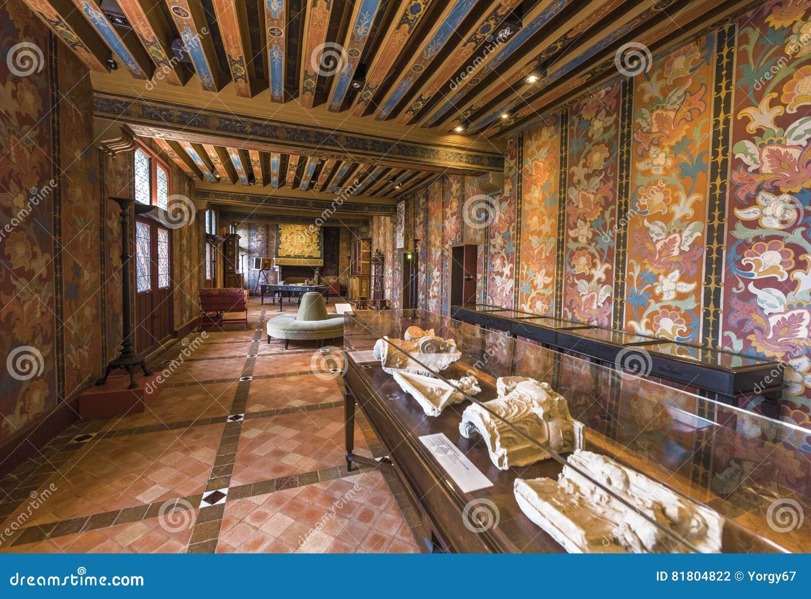 Художественная галерея в замке Blois