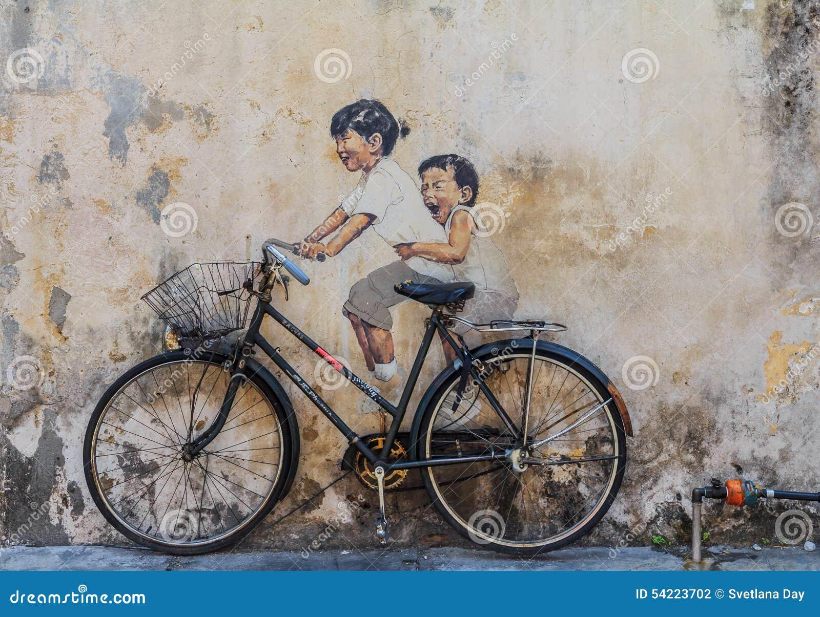 Художественное произведение стены Penang