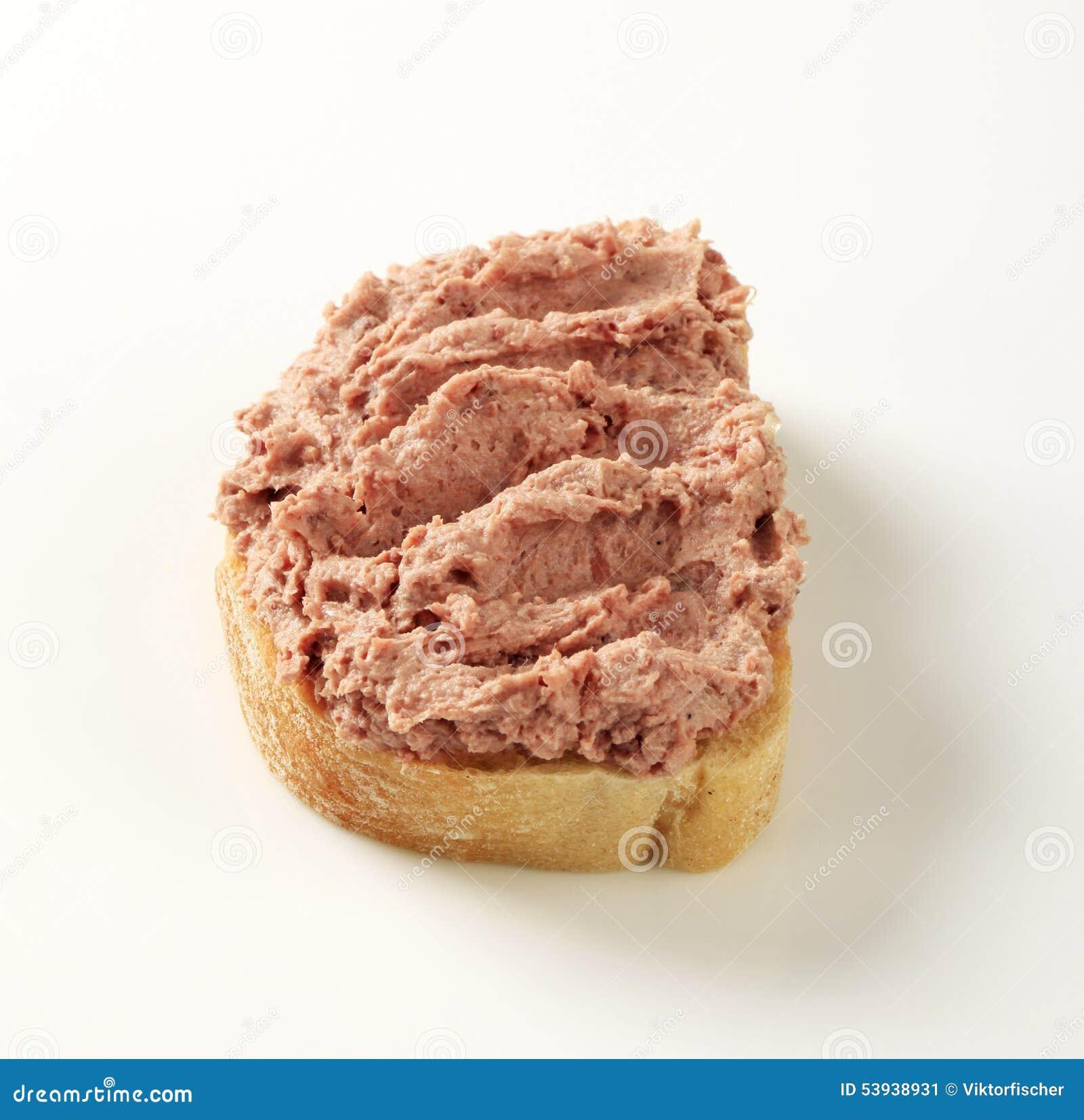 Хлеб и смачное распространение