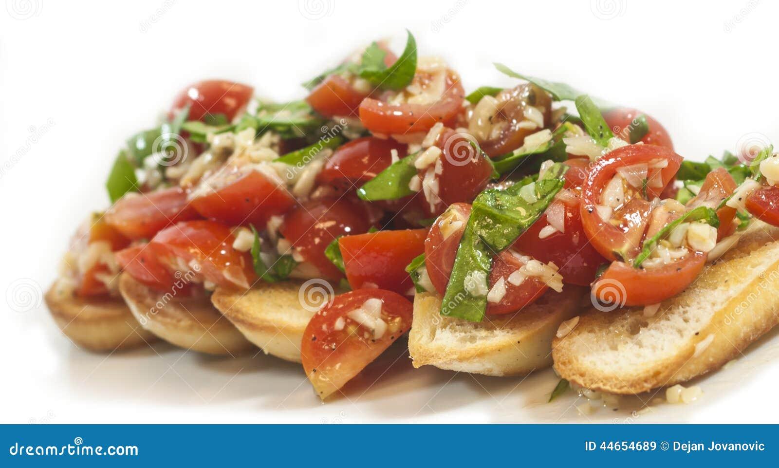 Хлеб Bruchetta Veggie