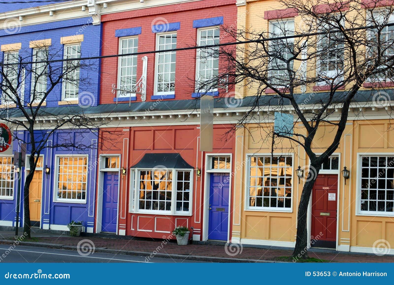 цветастые магазины