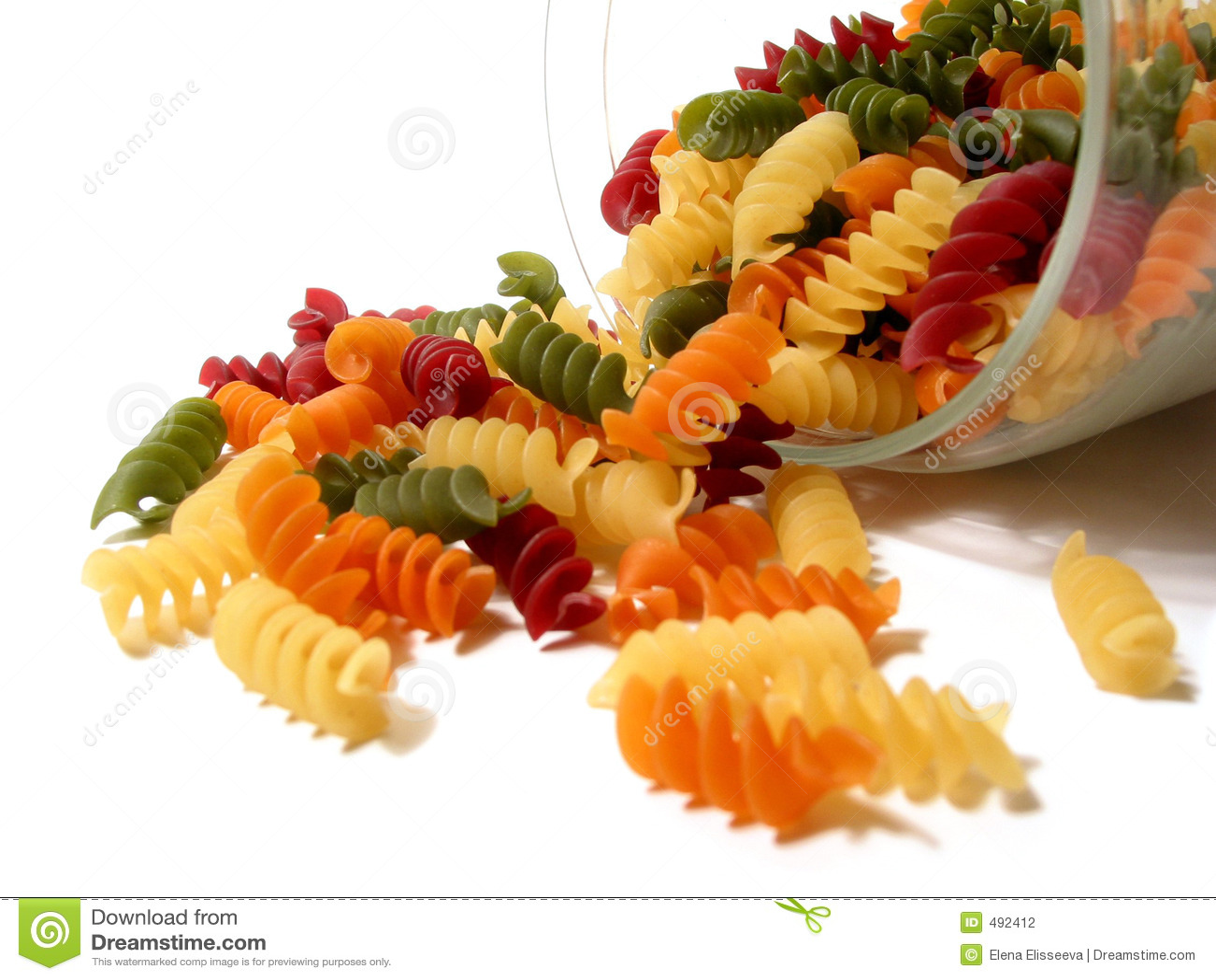 цветастые макаронные изделия опарника