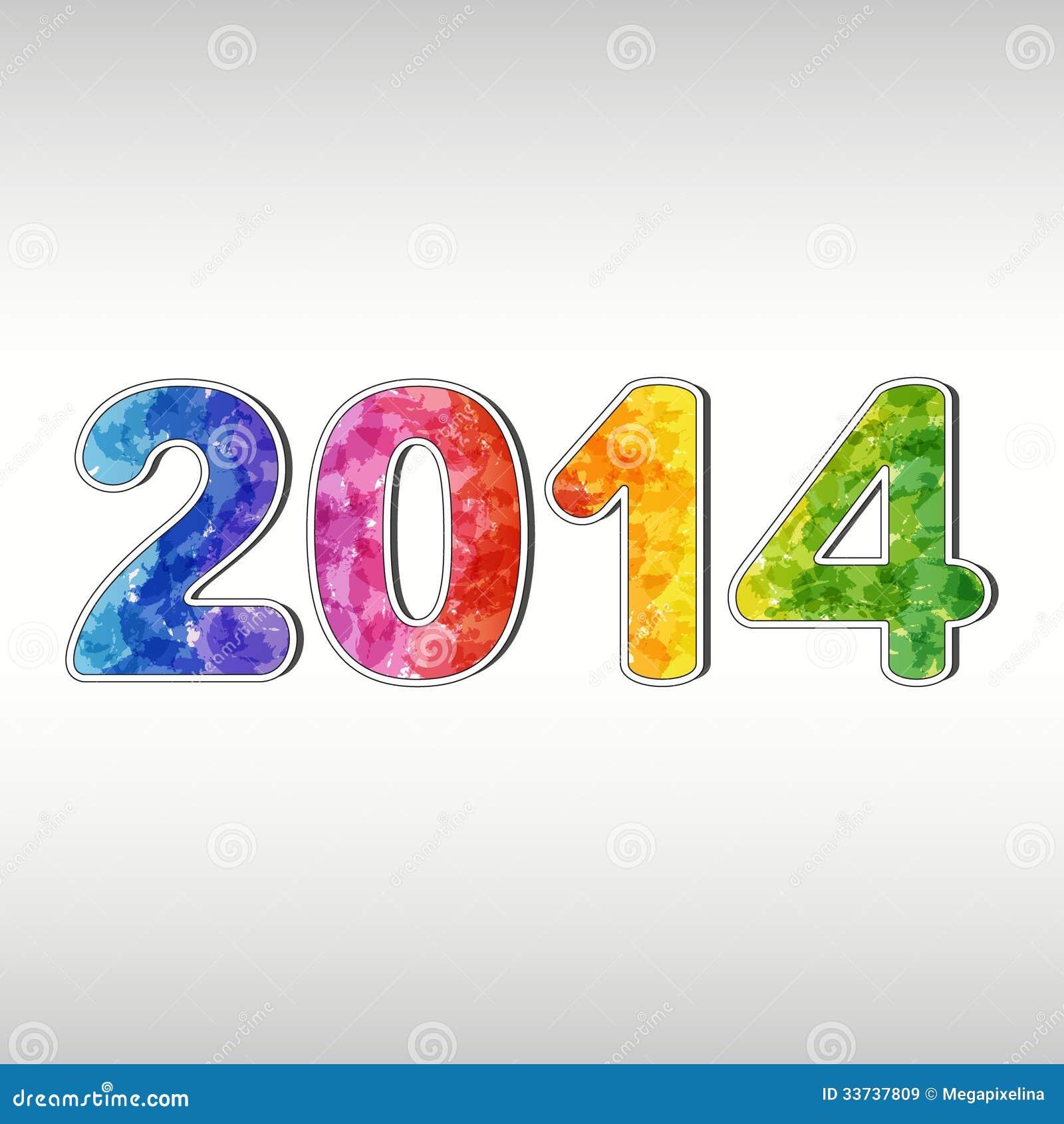 Красочный Новый Год 2014