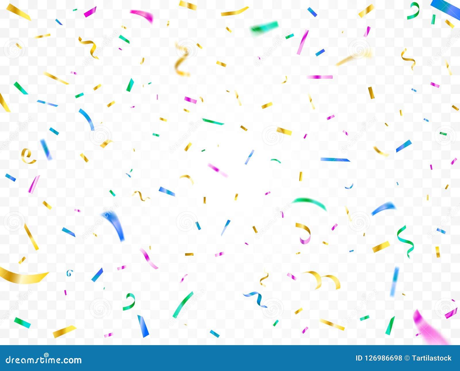 цветастый падать confetti Оформление партии фестиваля рождества, бумаги масленицы декоративные сияющие и бумажные ленты летая