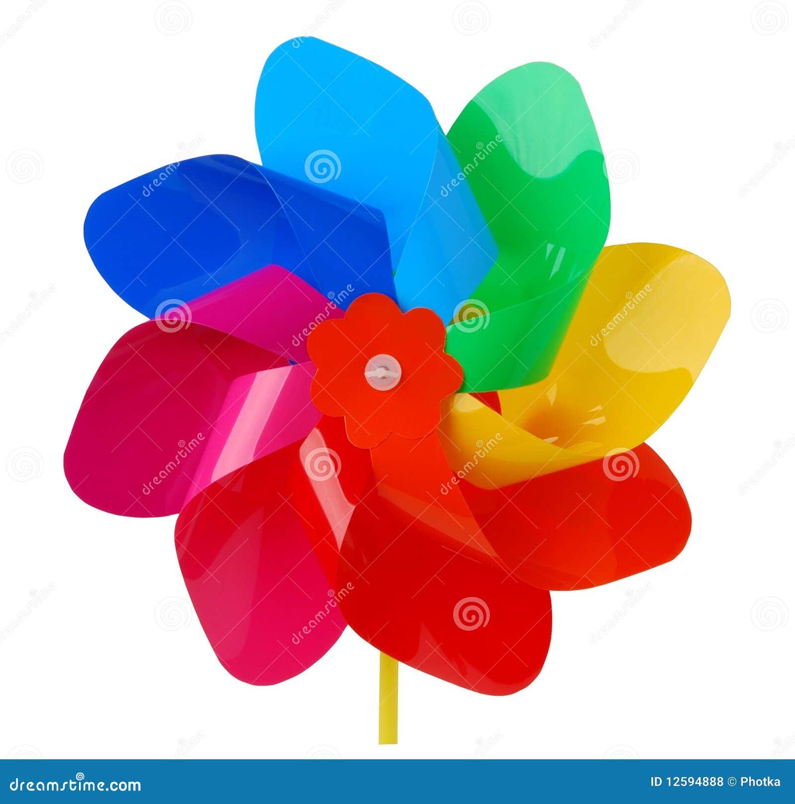 цветастый pinwheel