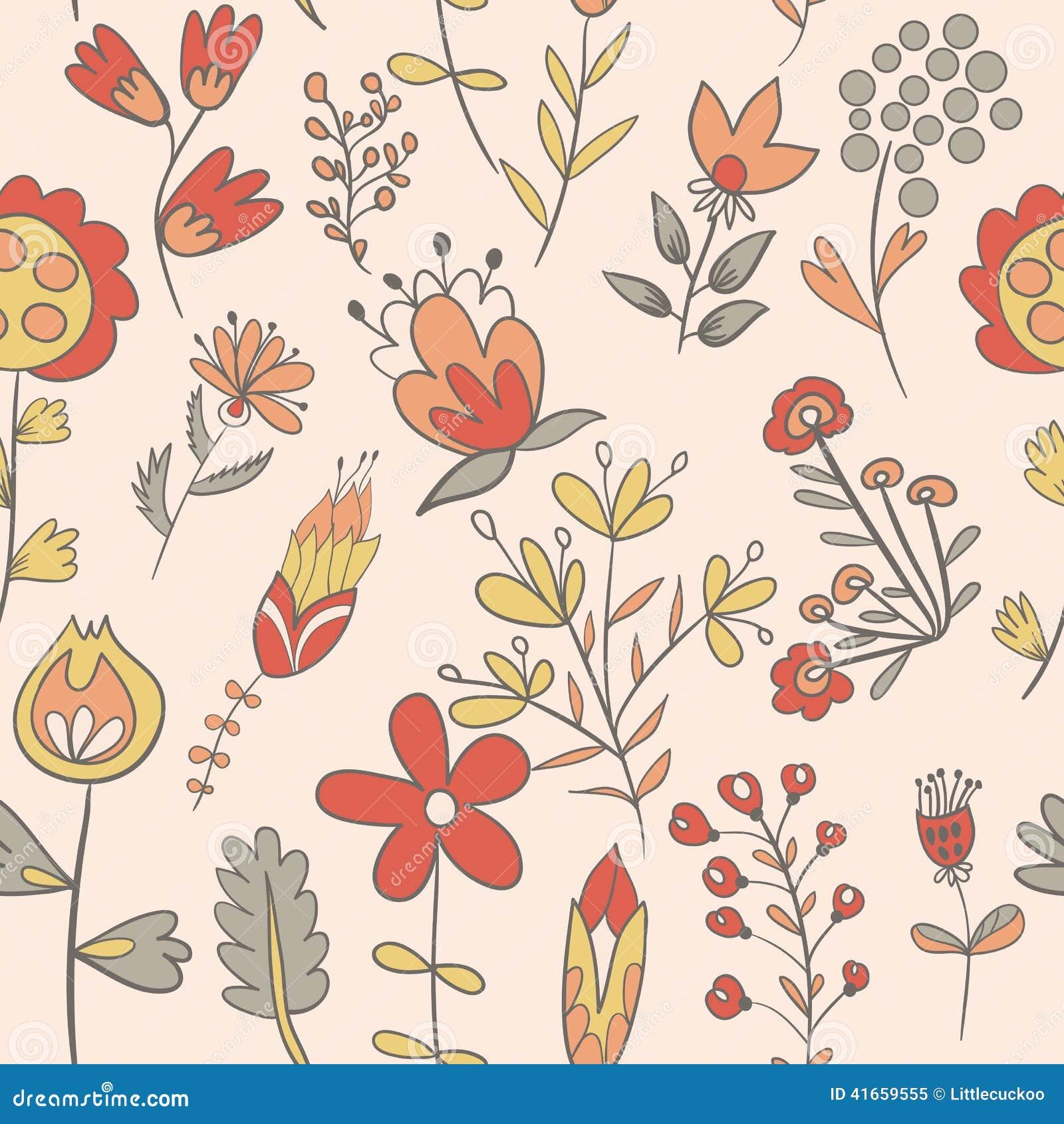 цветет безшовная текстура