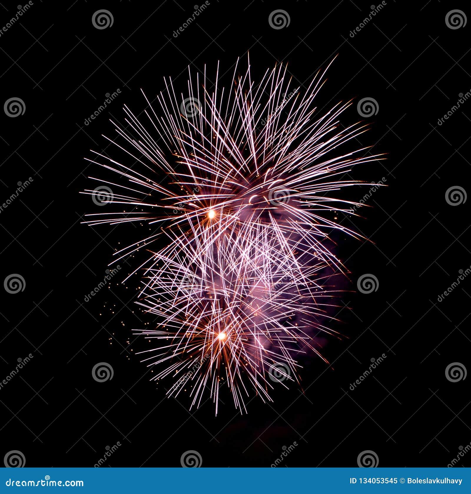 Цветки огня - Ignis Brunensis 2018 - фейерверки
