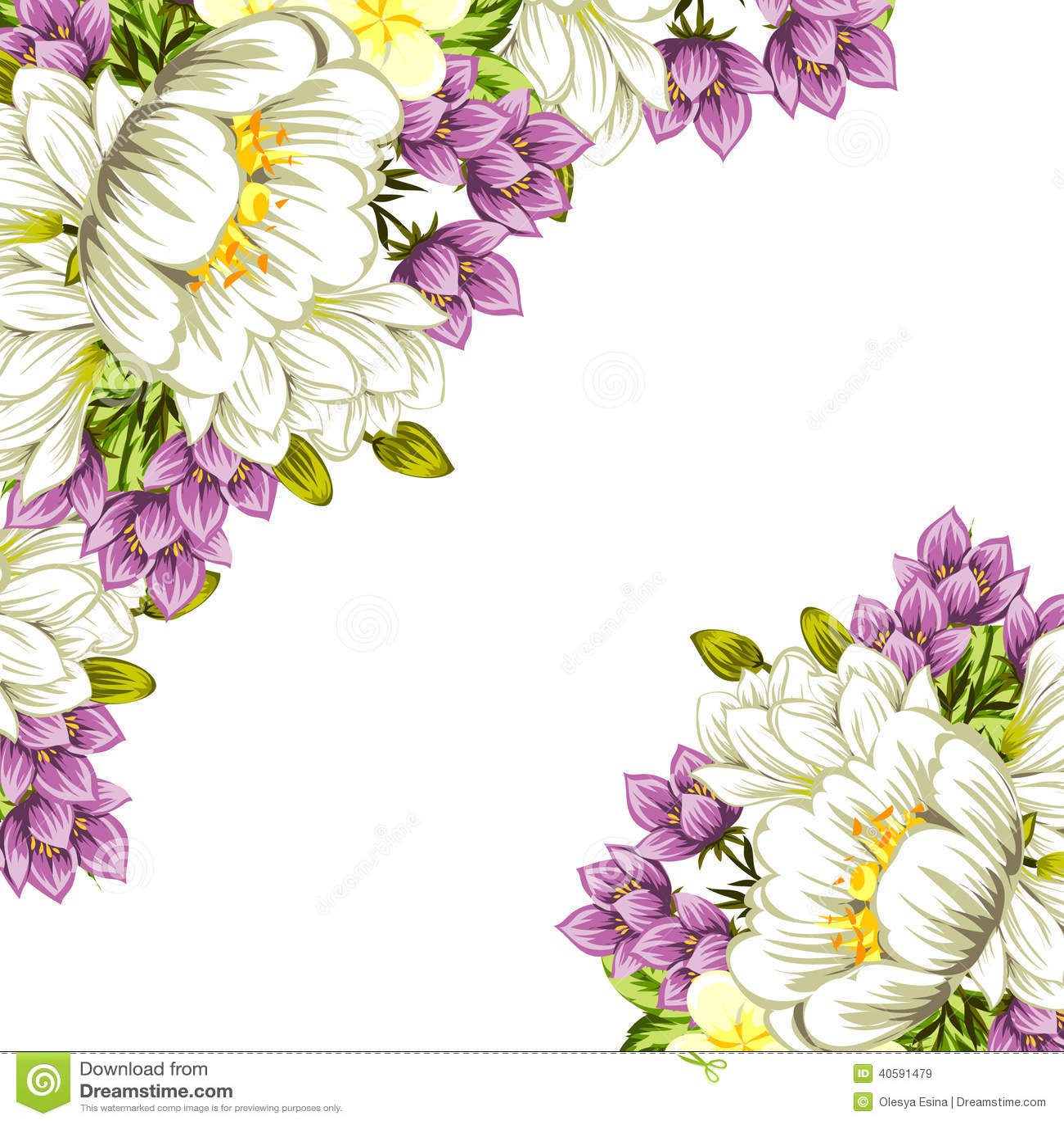 цветок предпосылки свежий