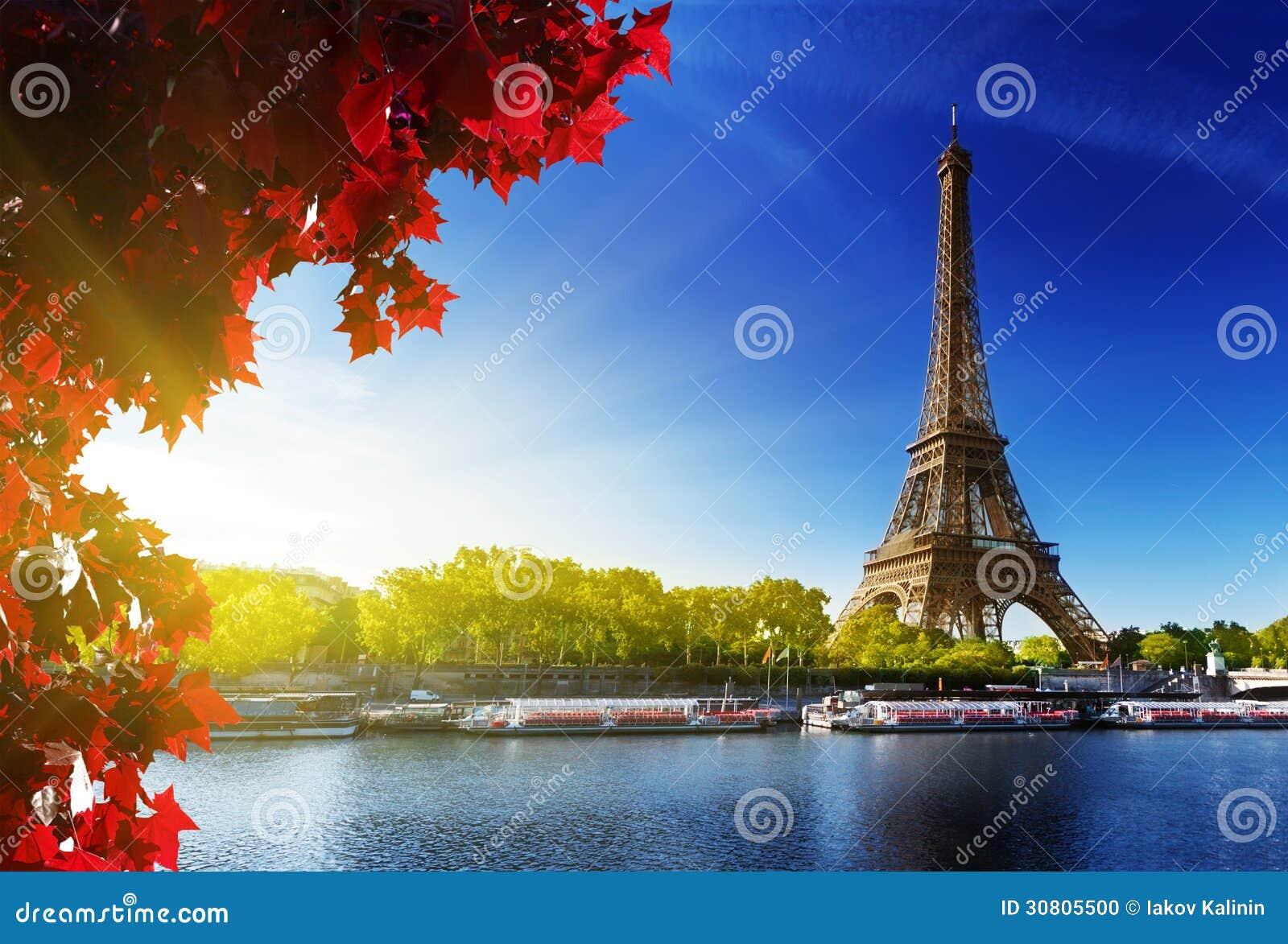 Цвет осени в Париже