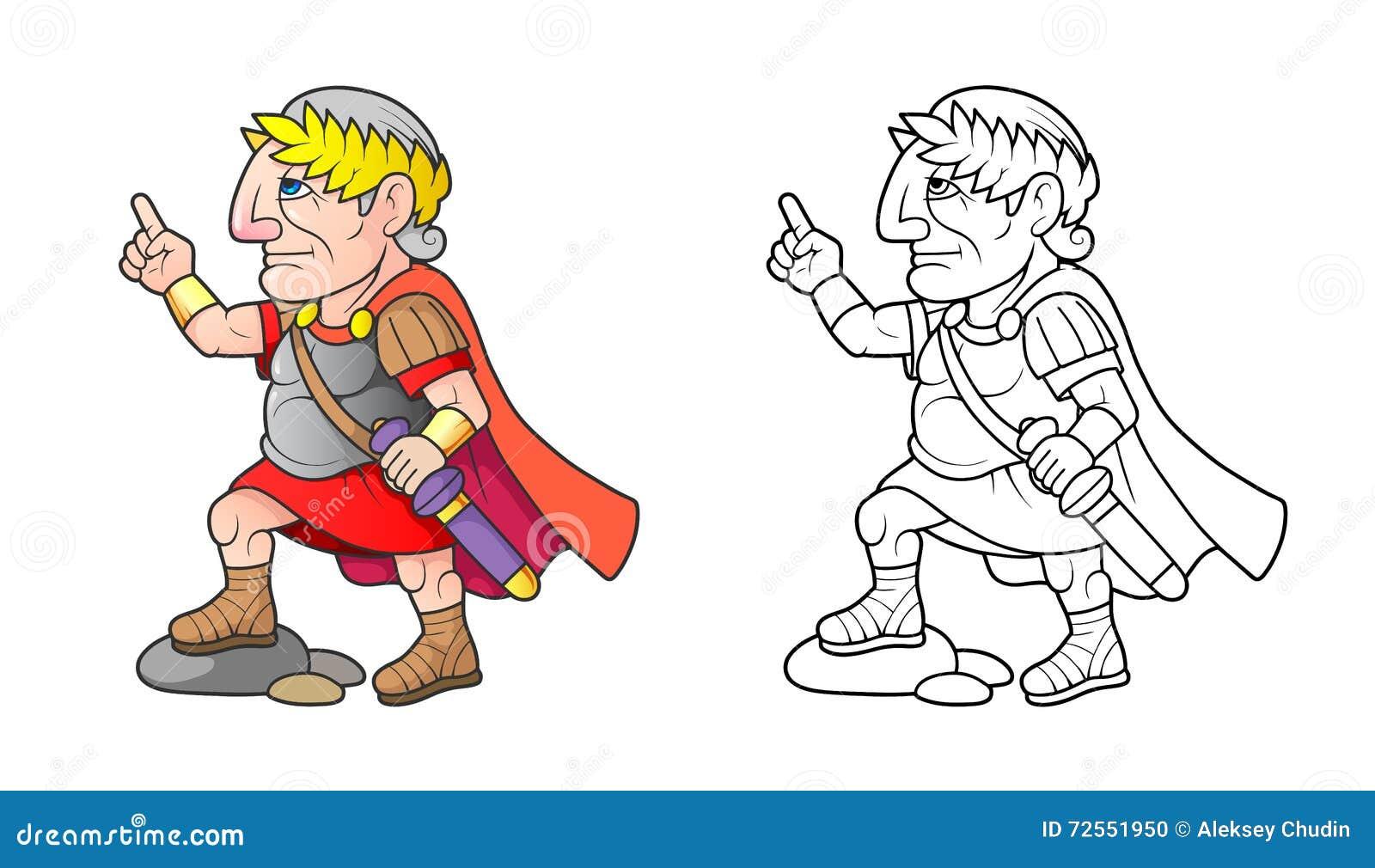 Цезарь подготавливает поставить речь