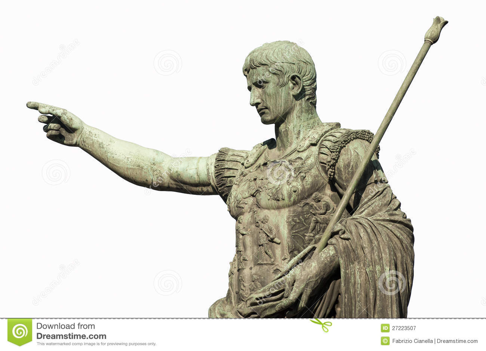 Цезарь Augustus Рим