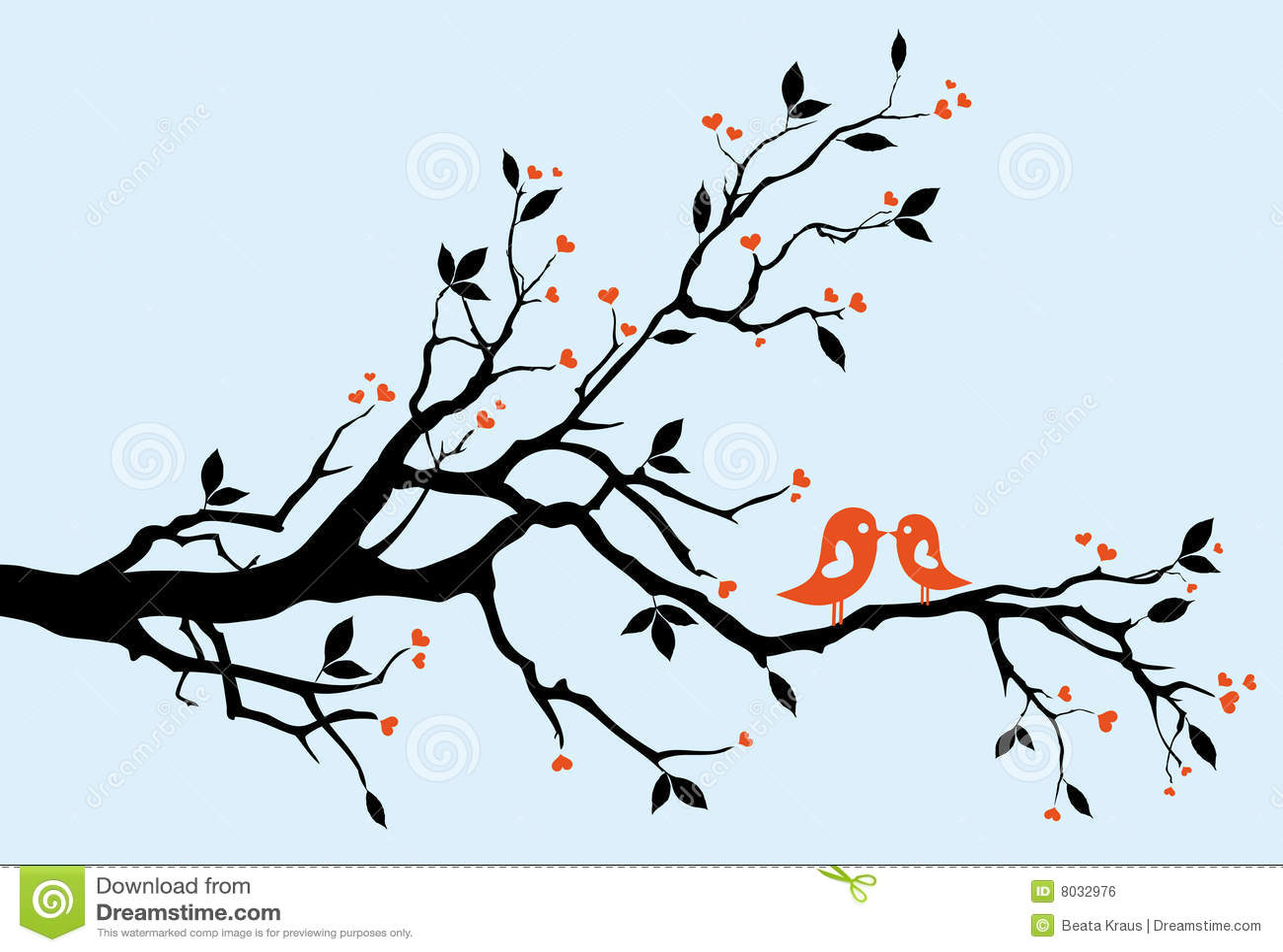 целовать птиц