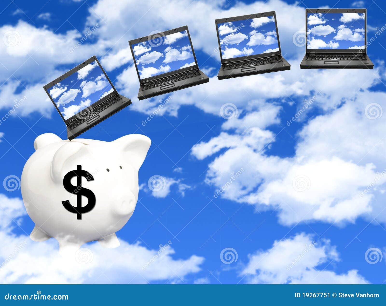 цена облака вычисляя
