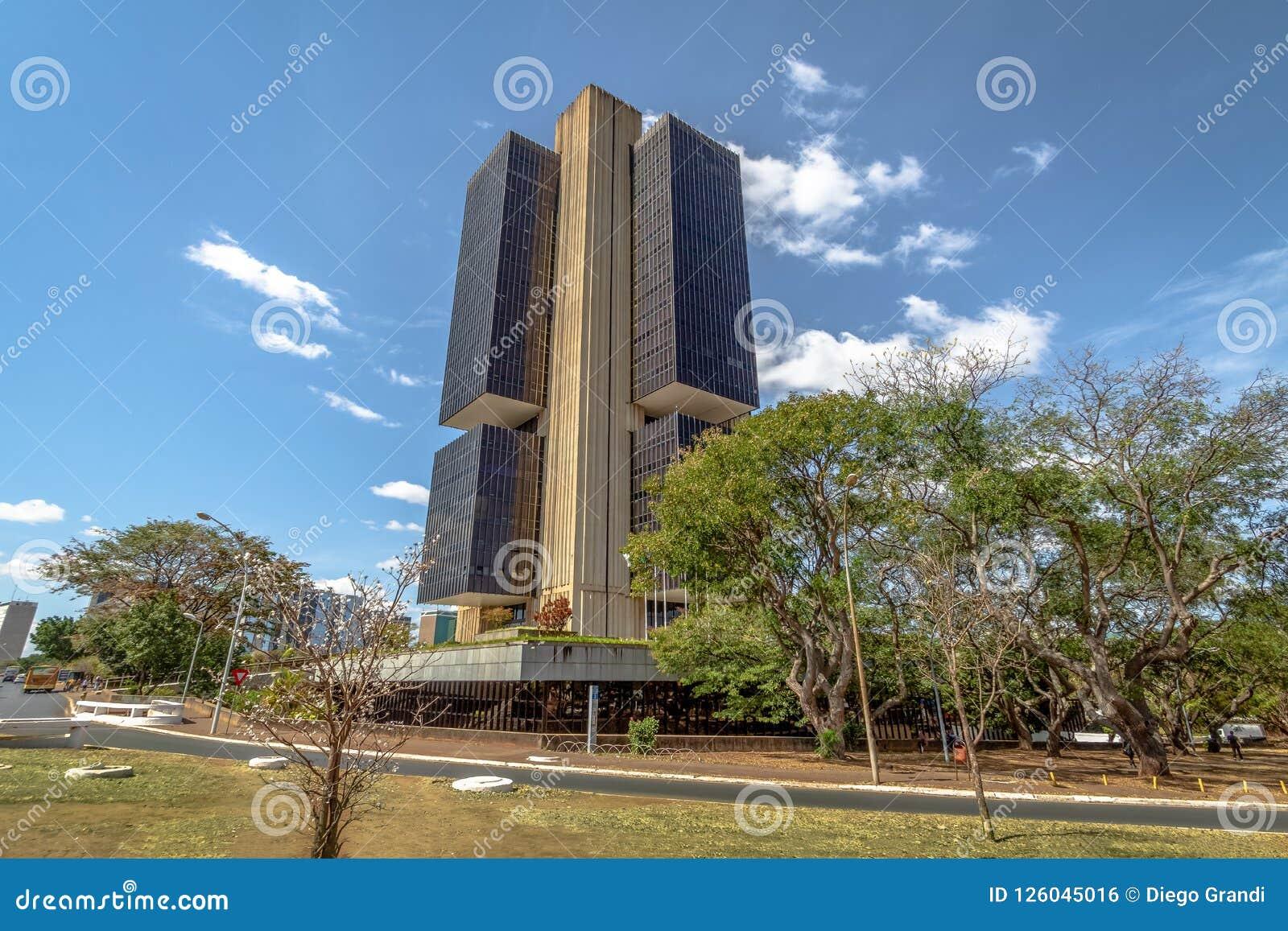 Центральный банк Бразилии размещает штаб здание - Brasilia, Distrito федеральное, Бразилия