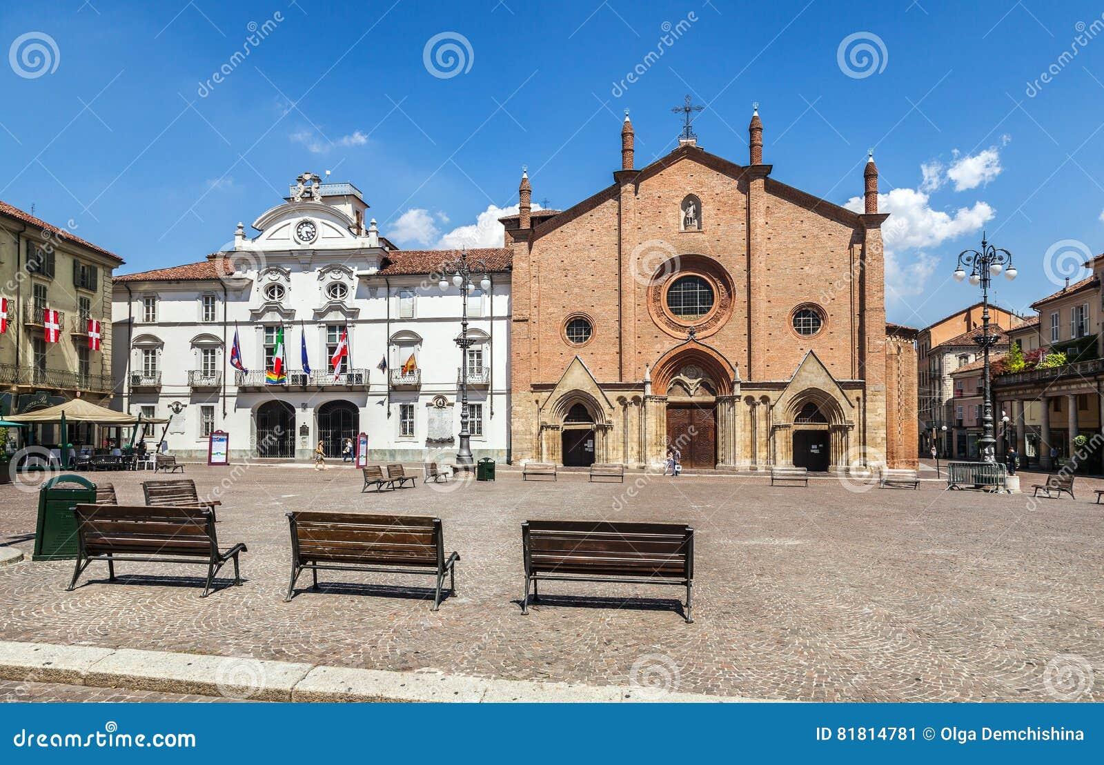 Центр Асти Италия