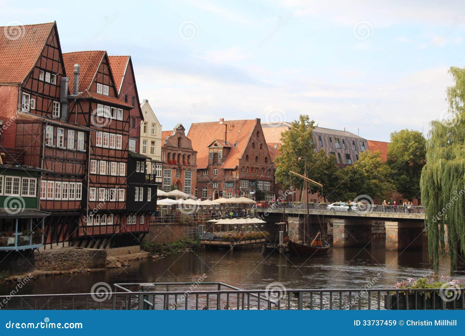 Центр города Lüneburg - Германия