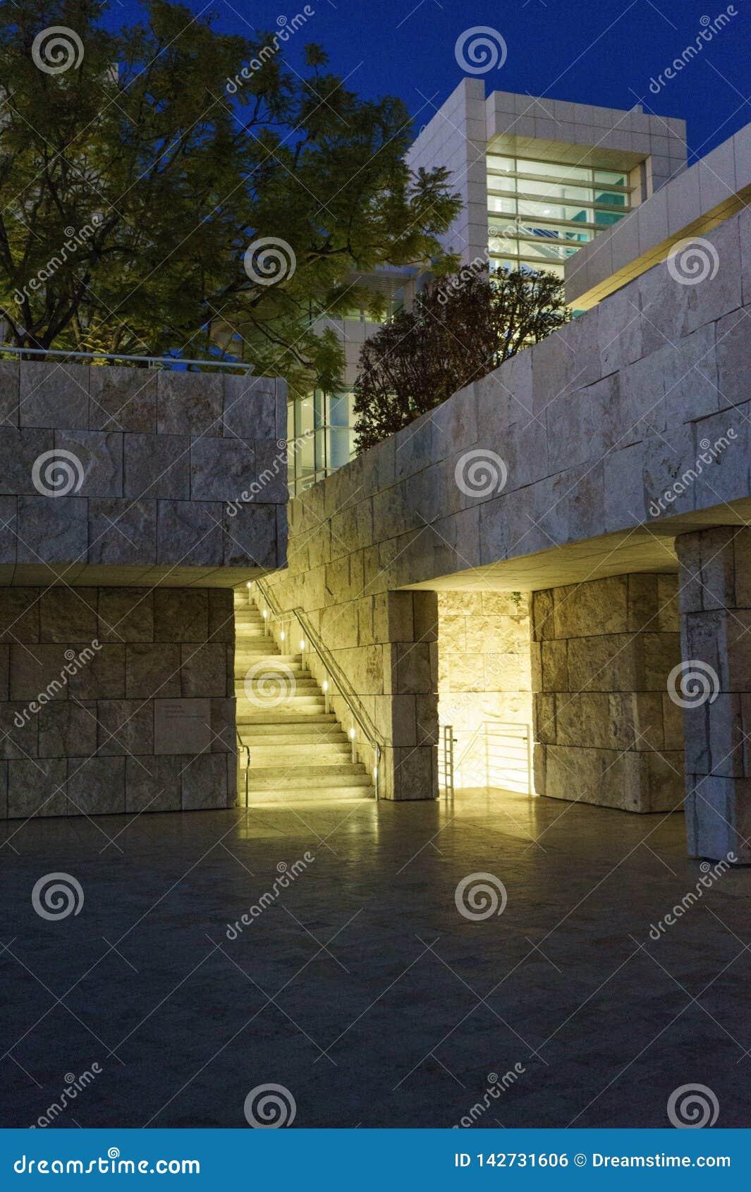 Центр Getty, Лос-Анджелес