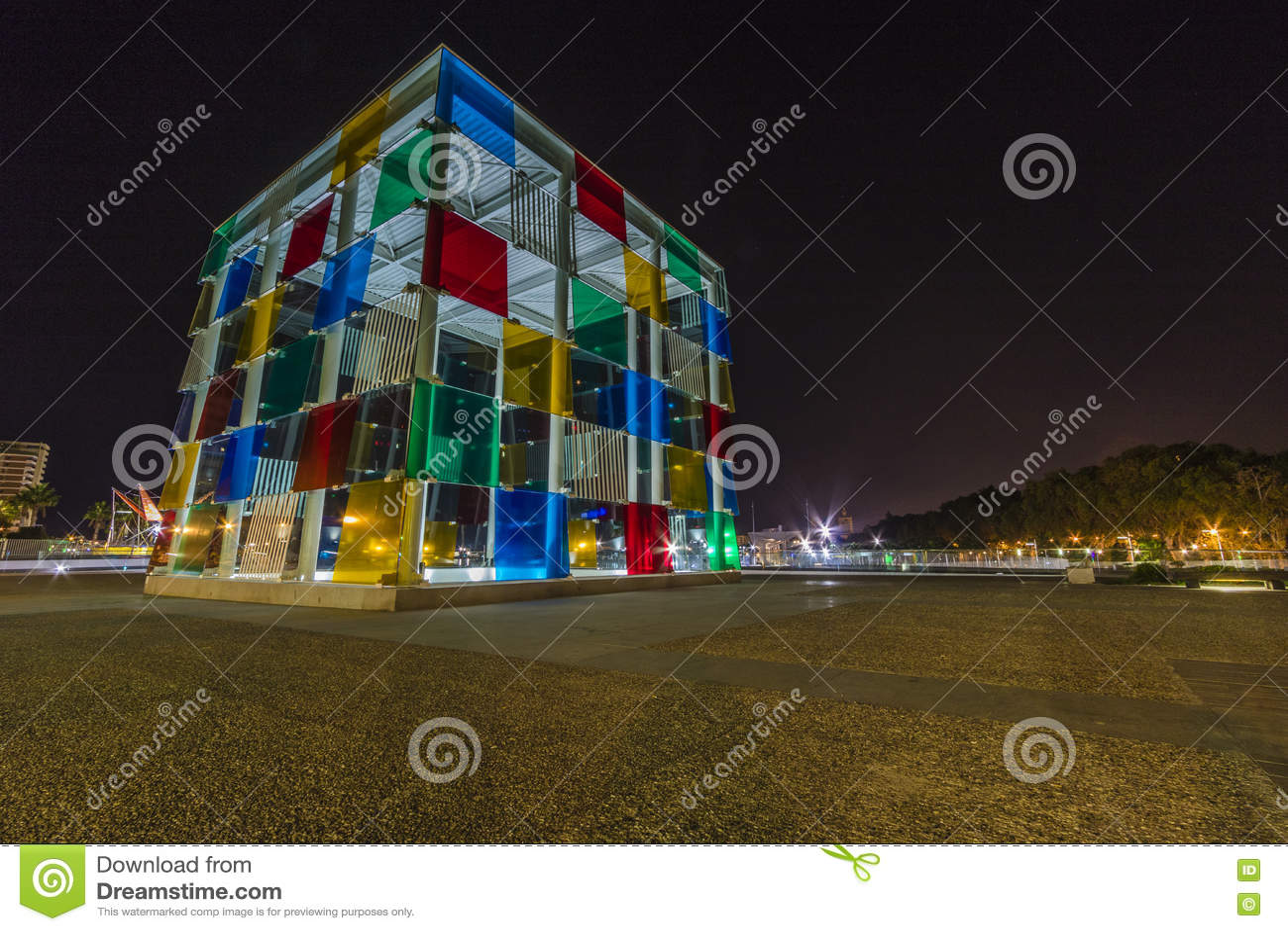 Центр Pompidou, Малага