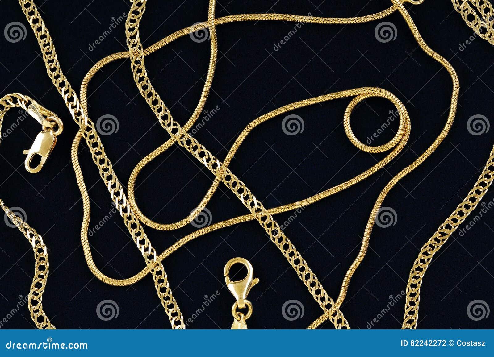 Цепи золота