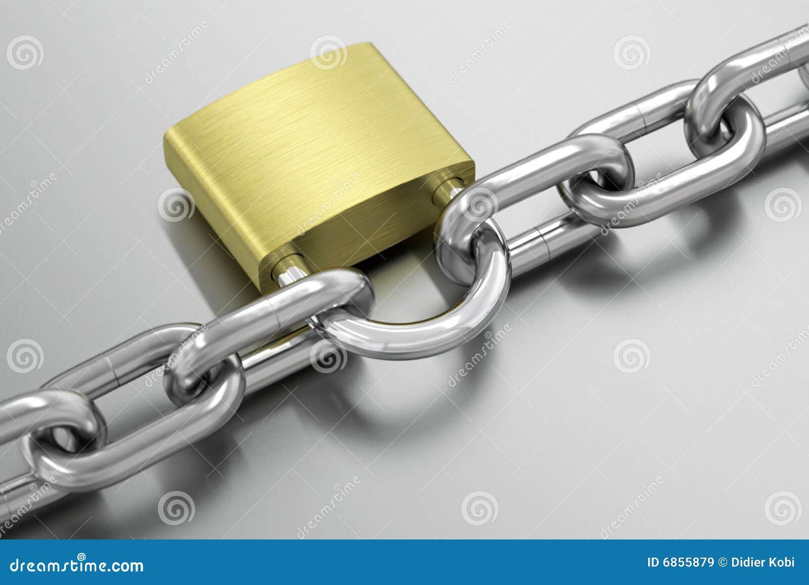цепной padlock