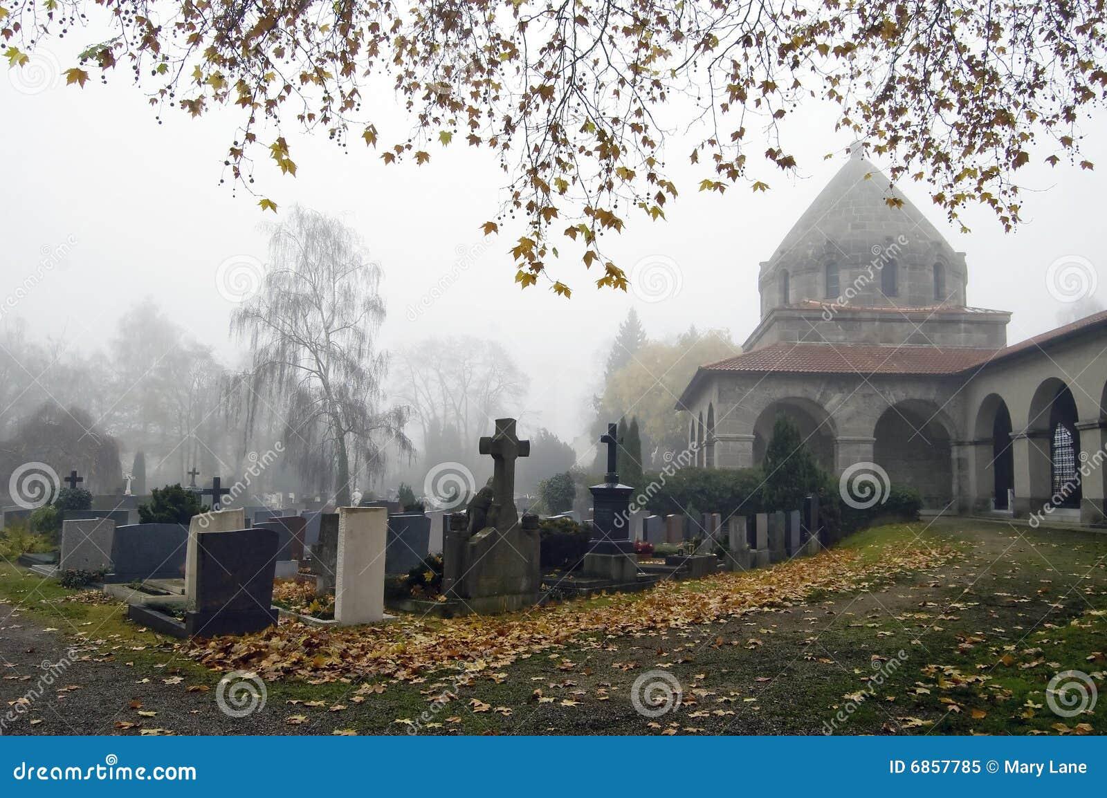 церковный двор туманнейший