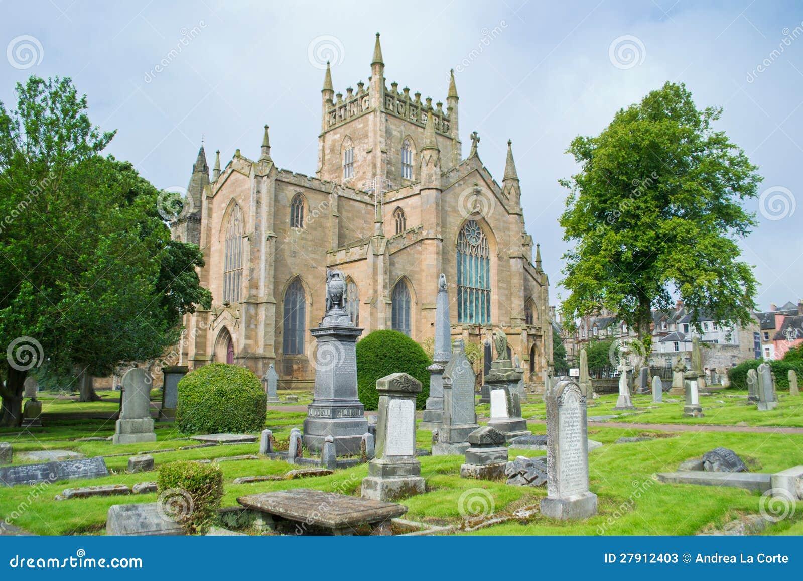 Церковь аббатства Dunfermline