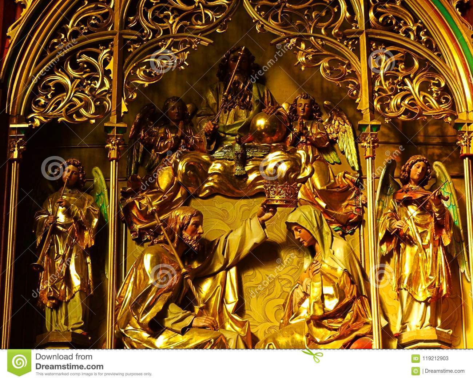 церковь, вероисповедание, висок, архитектура, искусство, статуя, скульптура, Таиланд, собор, старый, золото, Азия, интерьер, рели