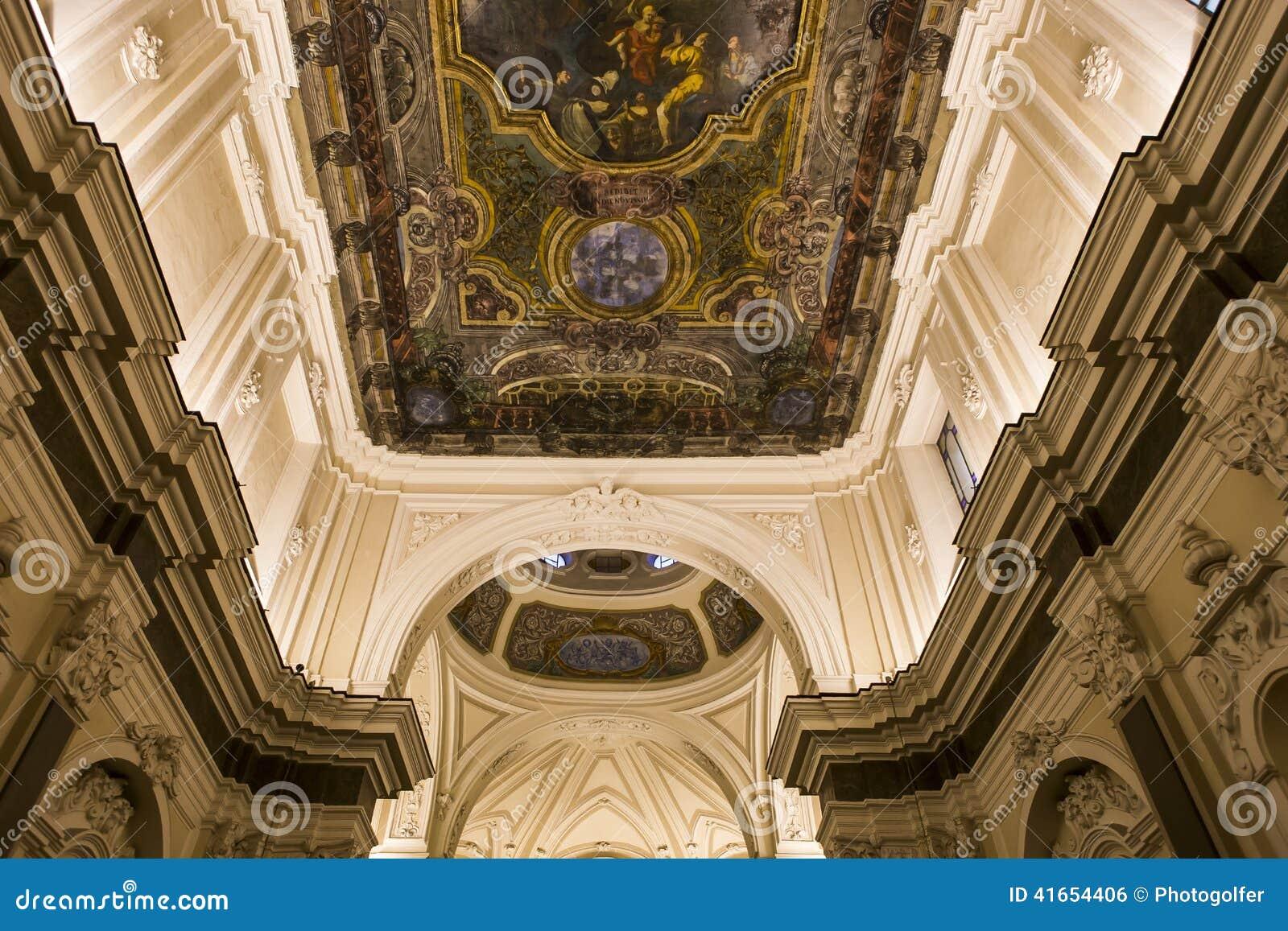 Церковь в кампании Сорренто, Италия Madonna del Кармина