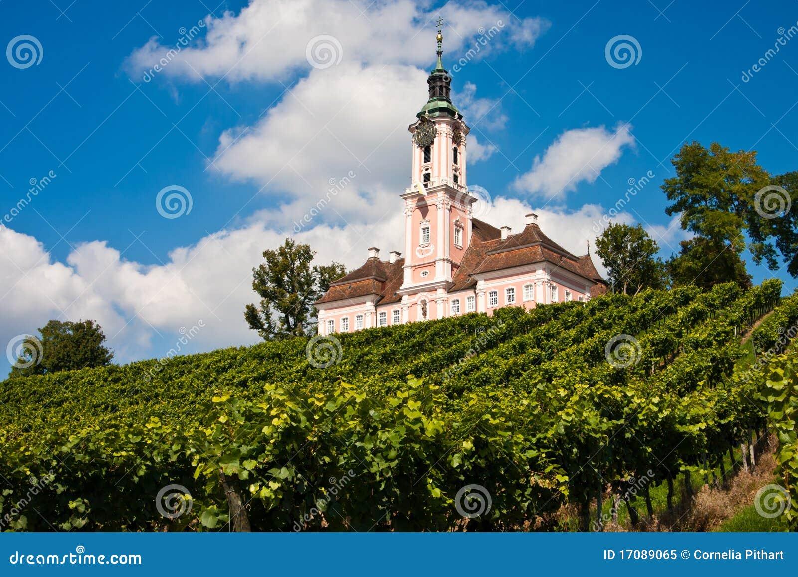 церковь Германия birnau