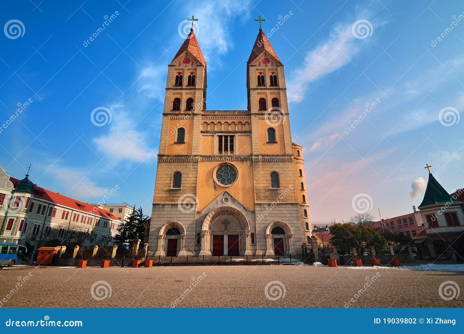 Церковь Китая в городе Qingdao