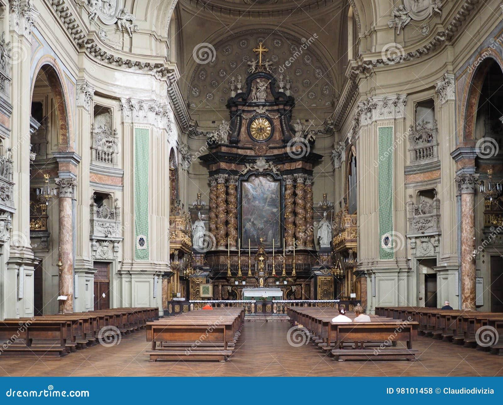 Церковь Сан Филиппо Neri в Турине