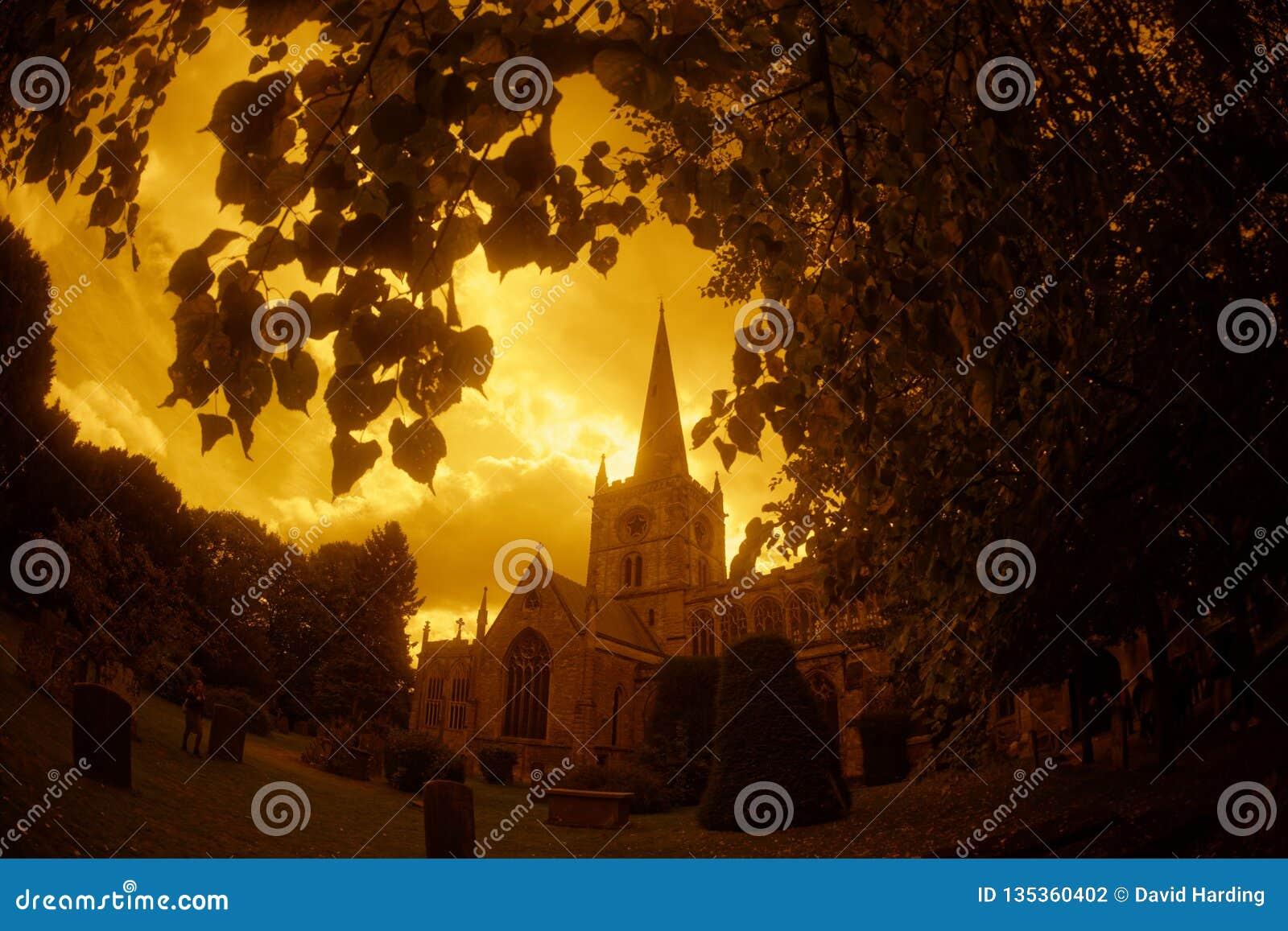 Церковь святой троицы Стратфорд