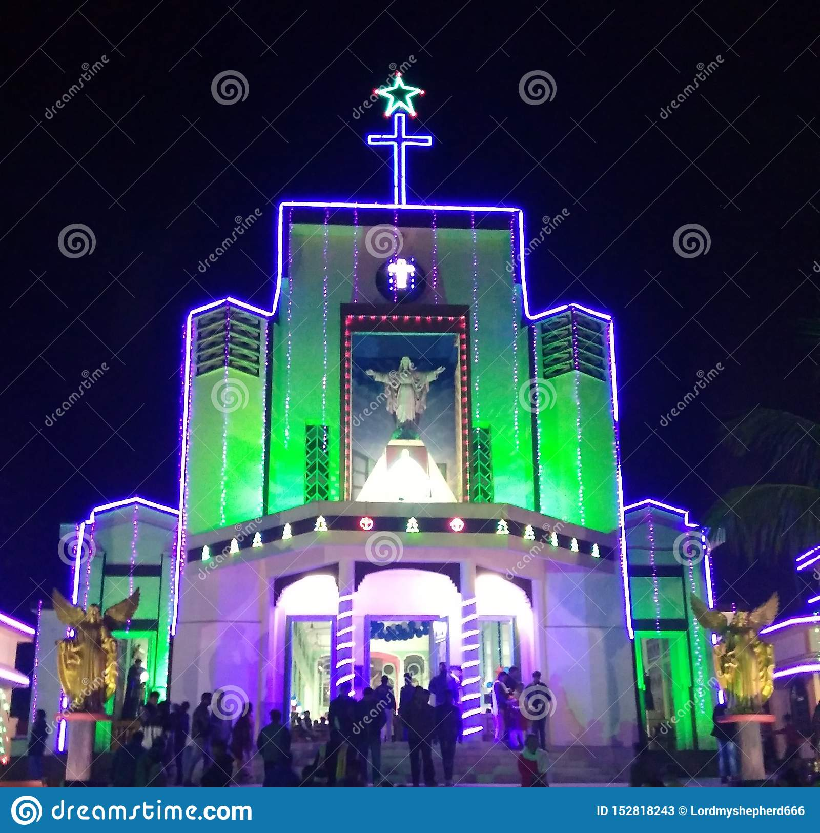 Церковь СВЯТЫНИ, Tezpur АСОМ