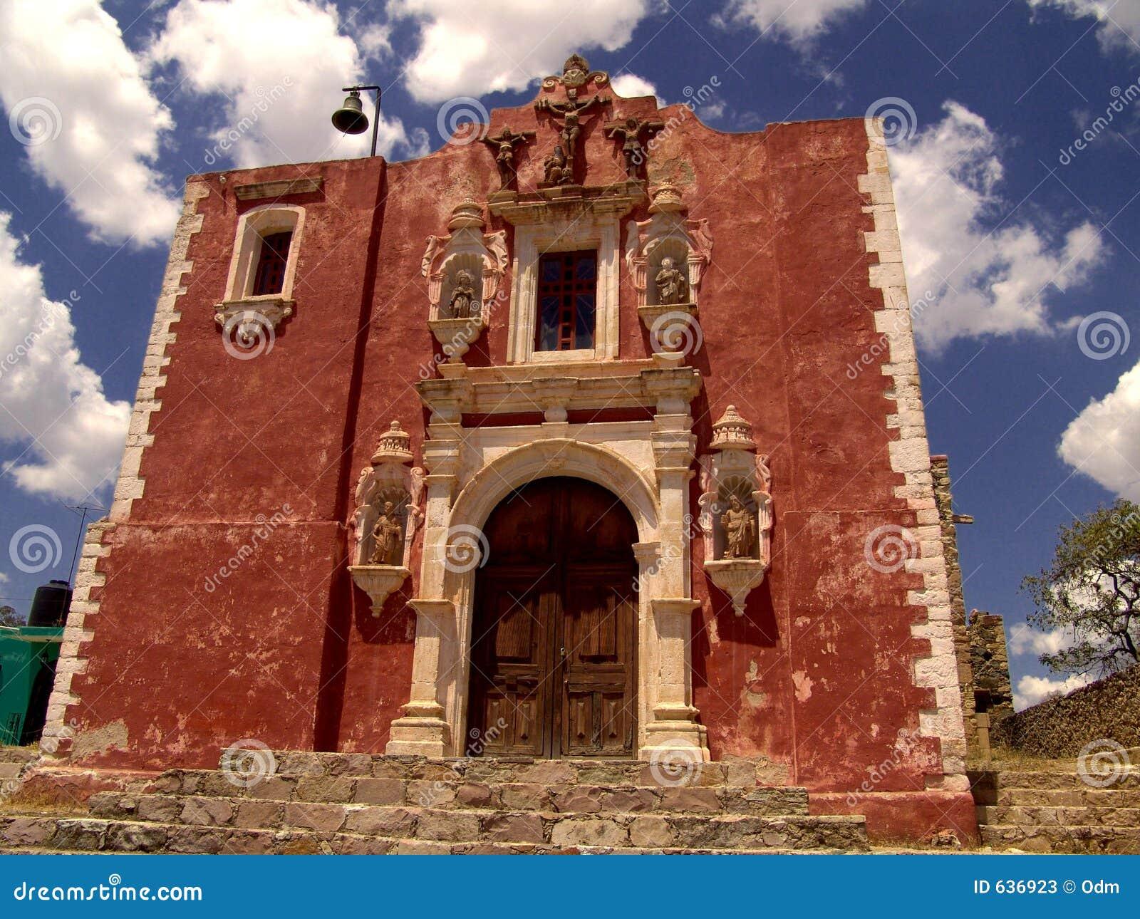 Download церковь calvario стоковое изображение. изображение насчитывающей церковь - 636923
