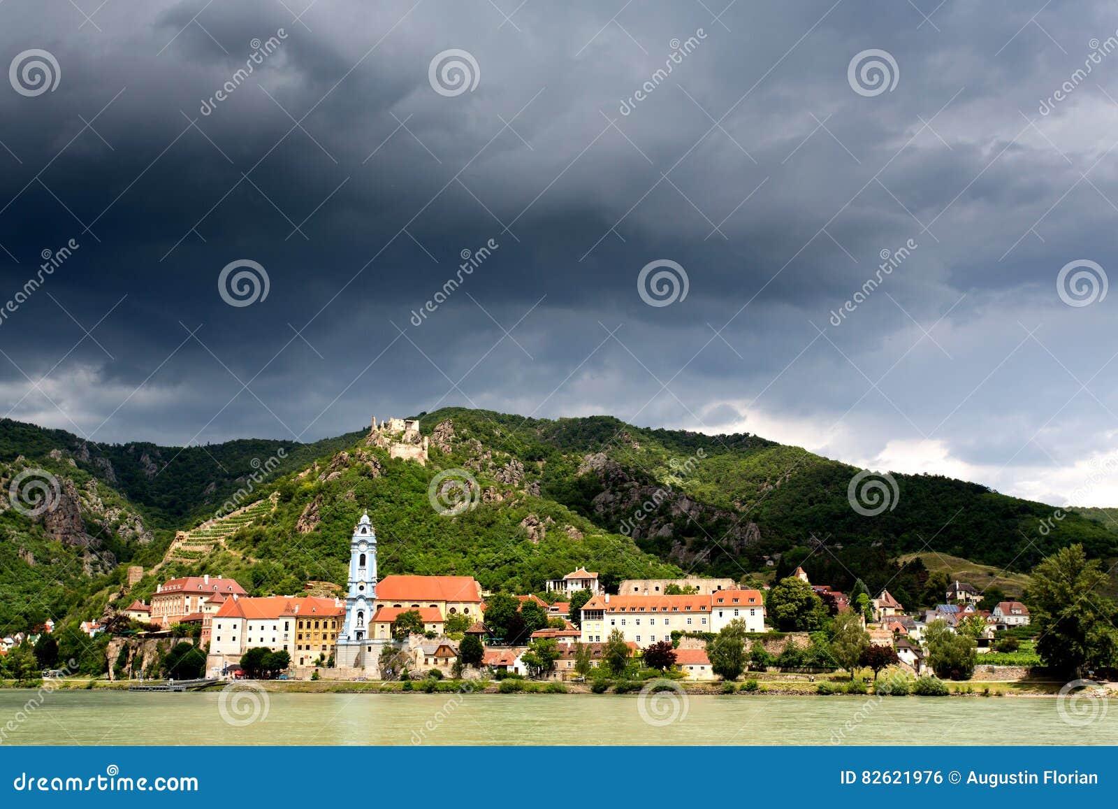 Церковь Durnstein Дунай в долине Wachau