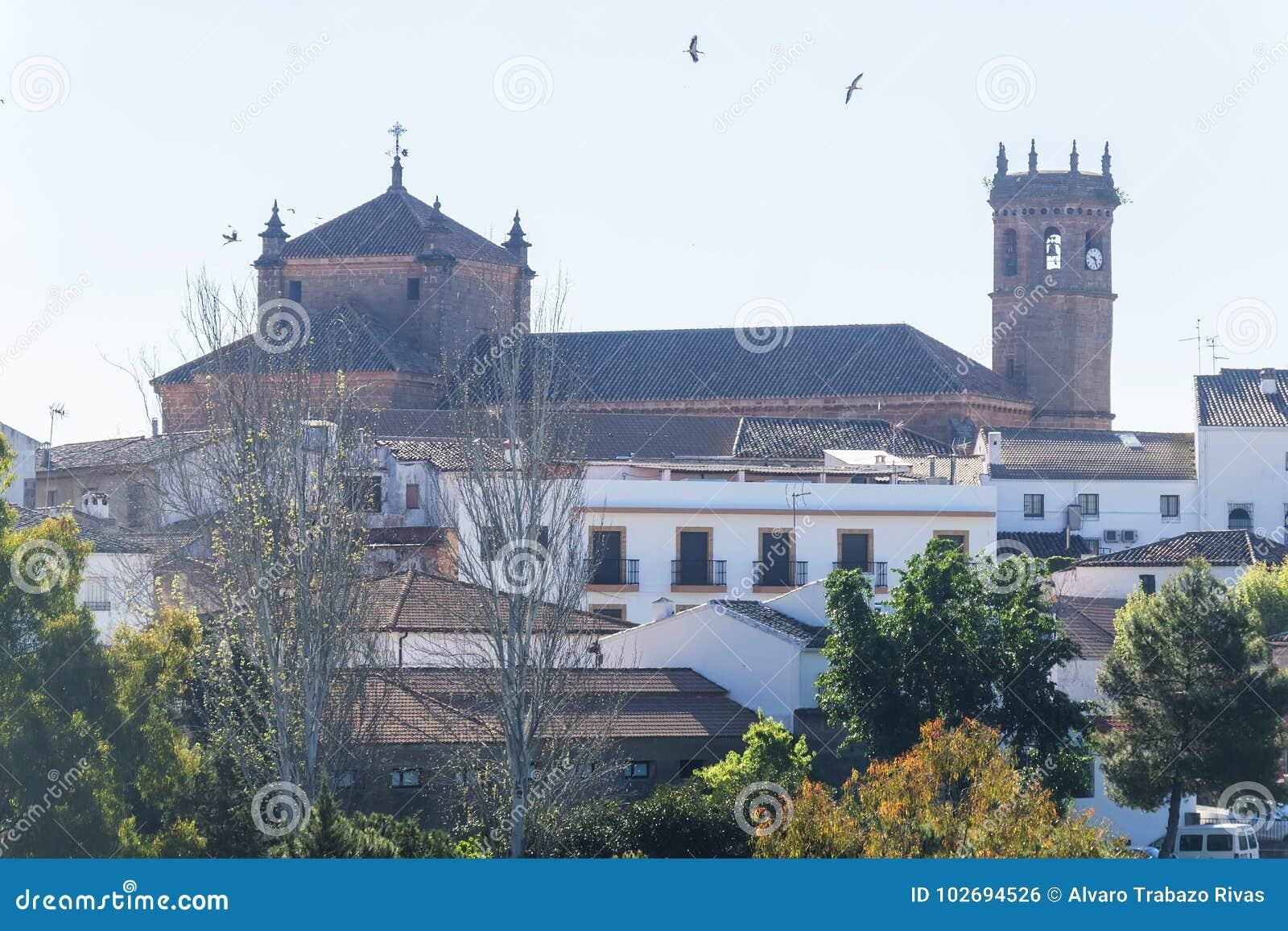 Церковь San Mateo, деревня encina Ла Baños de, провинция Jaen, Sp