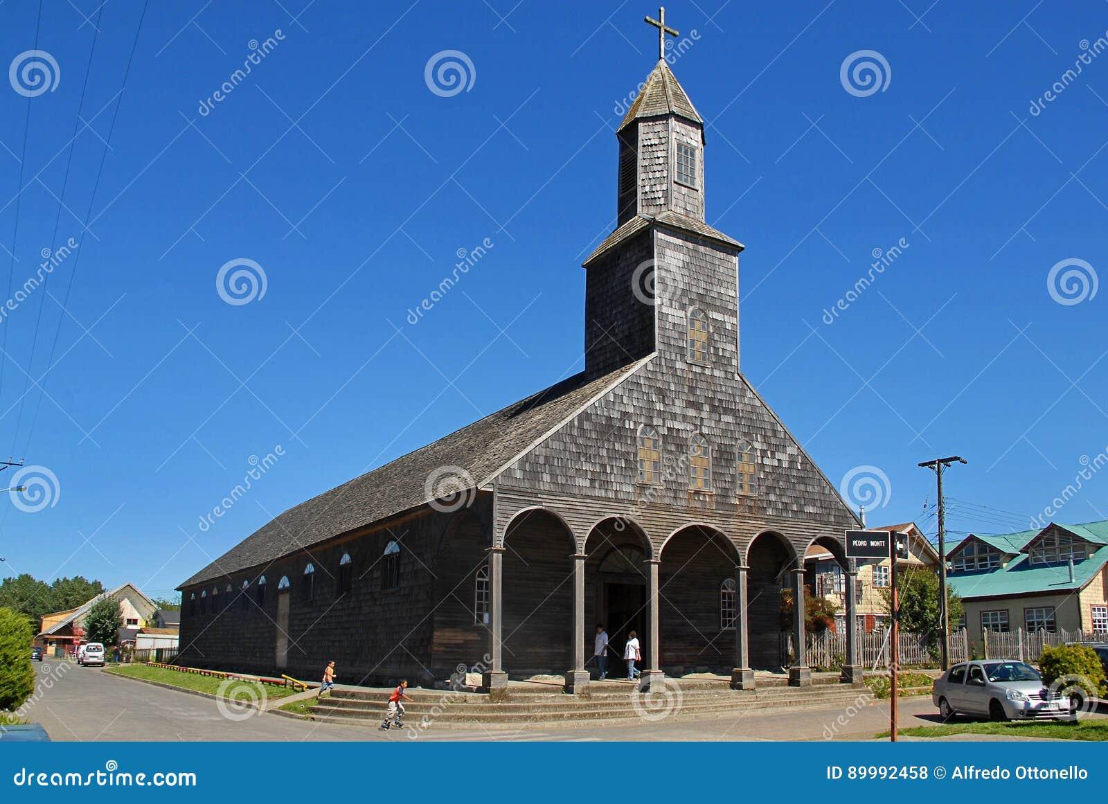 Церковь Santa Maria de Loreto, Achao, Чили