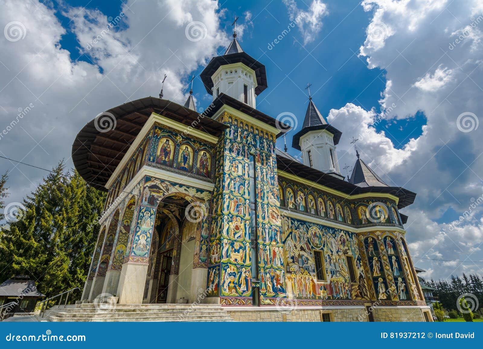 Церковь Sf Ioan Iacob Hozevitul от Neamt, Румынии
