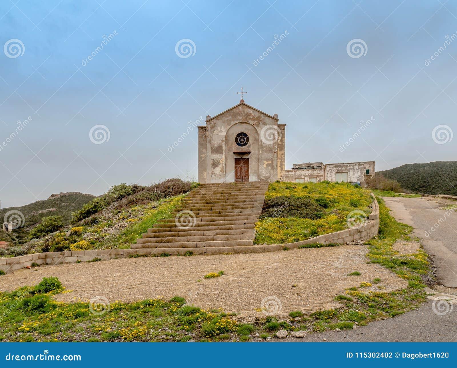 Церковь St Барбары в Argentiera