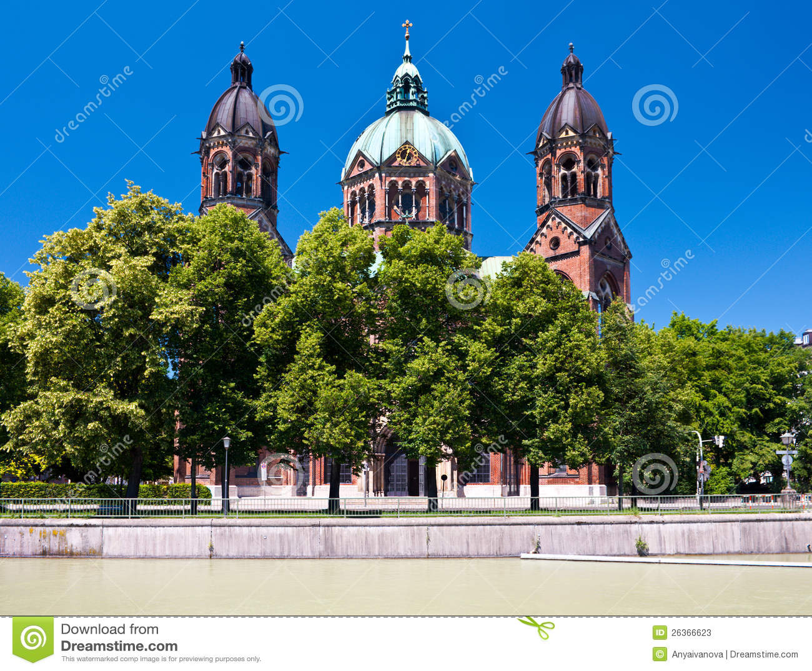 Церковь St. Lukas, Мюнхен, Германия