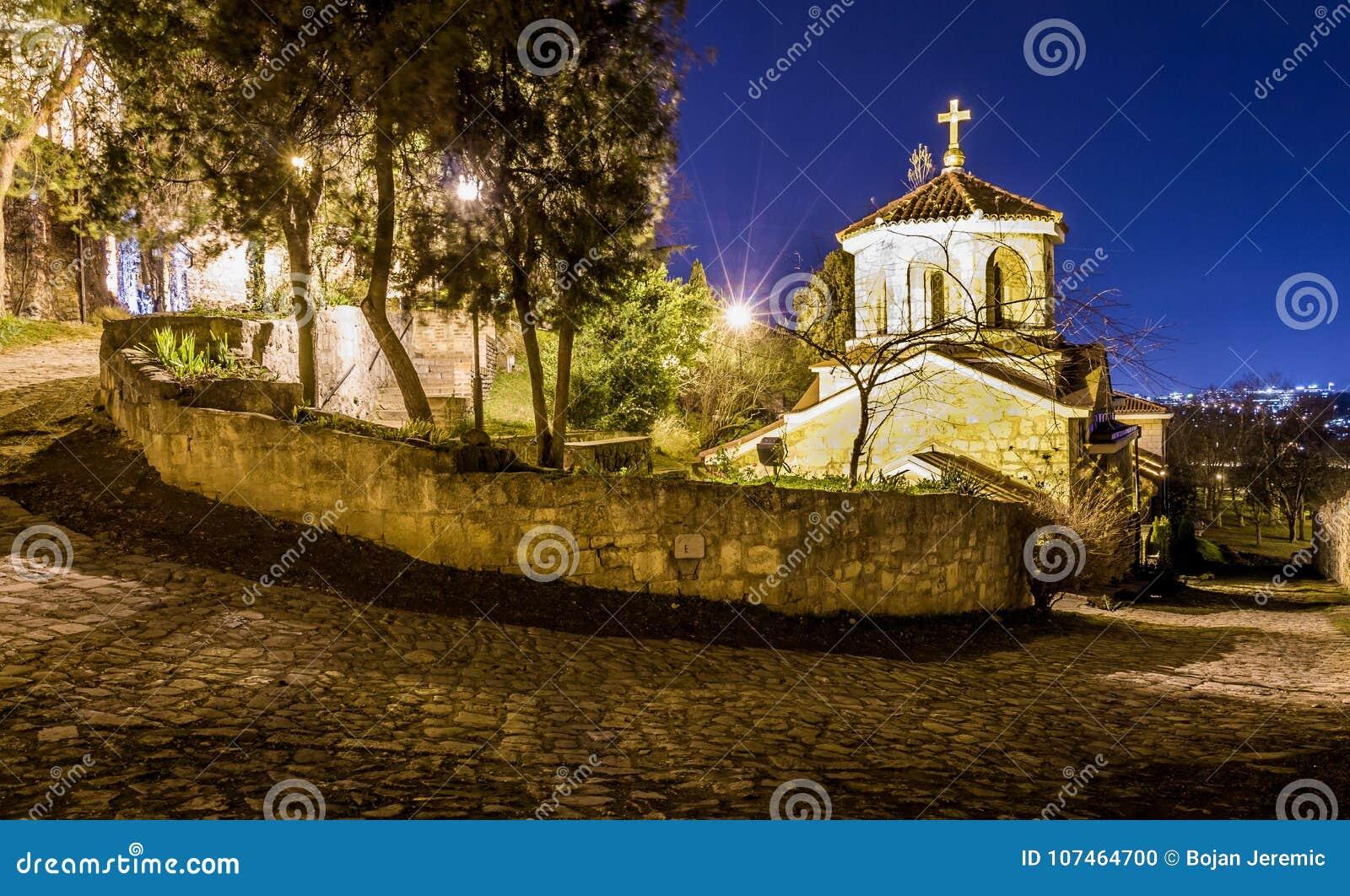Церковь St Petka на крепости Kalemegdan в Белграде